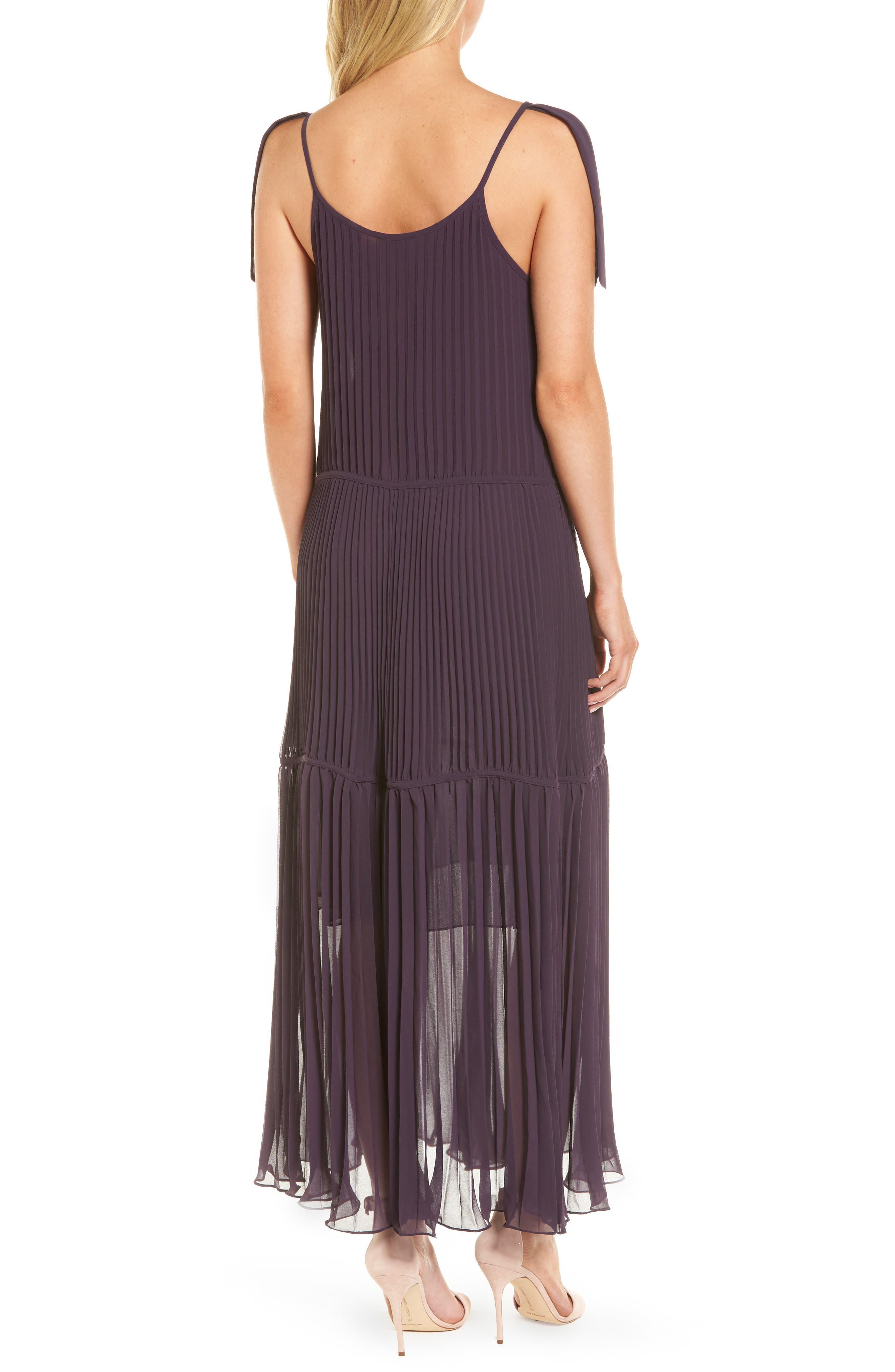 Chiffon Maxi Dress,                             Alternate thumbnail 5, color,