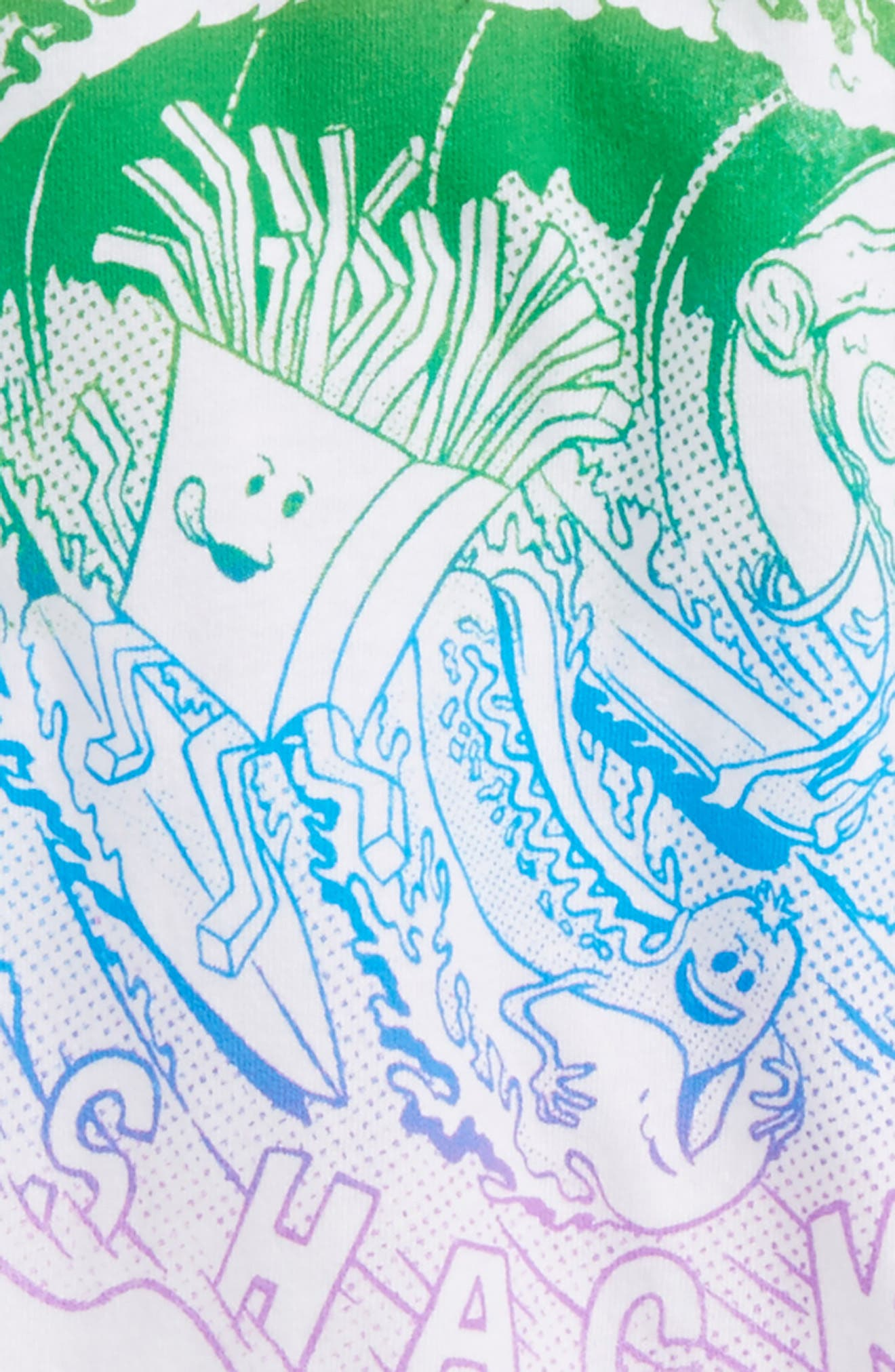 Snacks & Shacks Graphic T-Shirt,                             Alternate thumbnail 3, color,