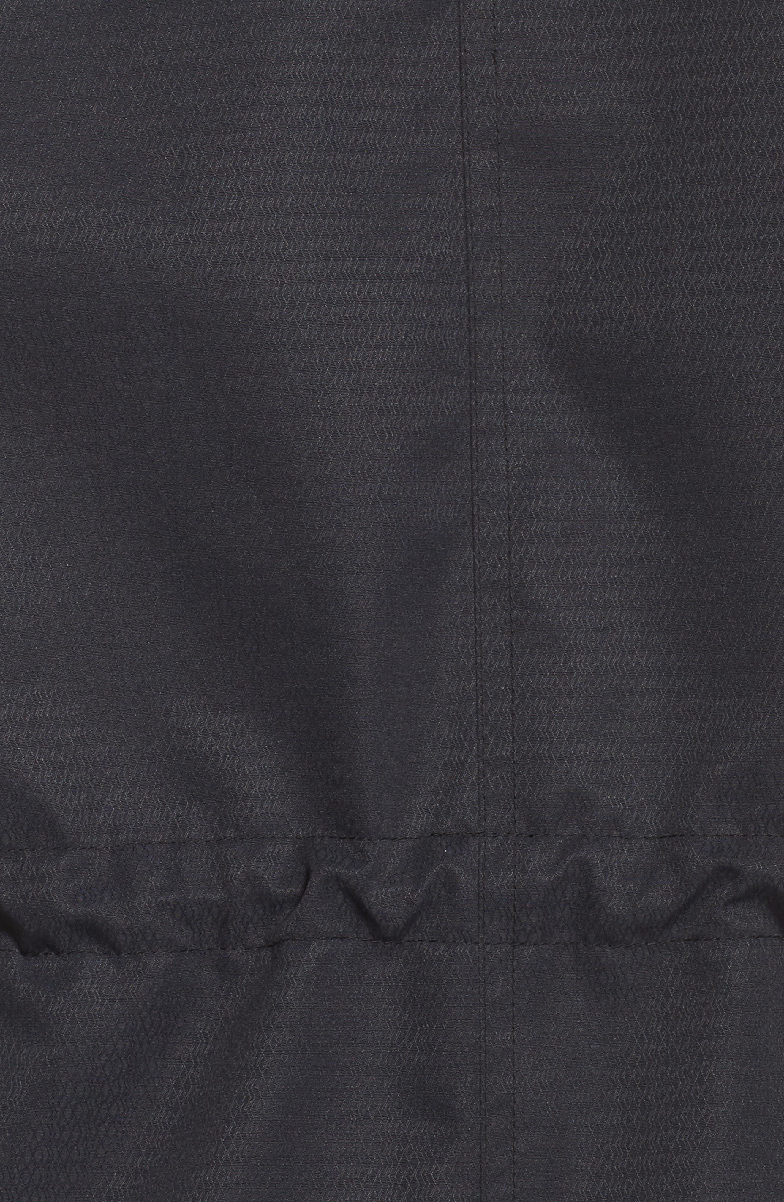 Sadie Waterproof Hooded Jacket,                             Alternate thumbnail 7, color,                             001