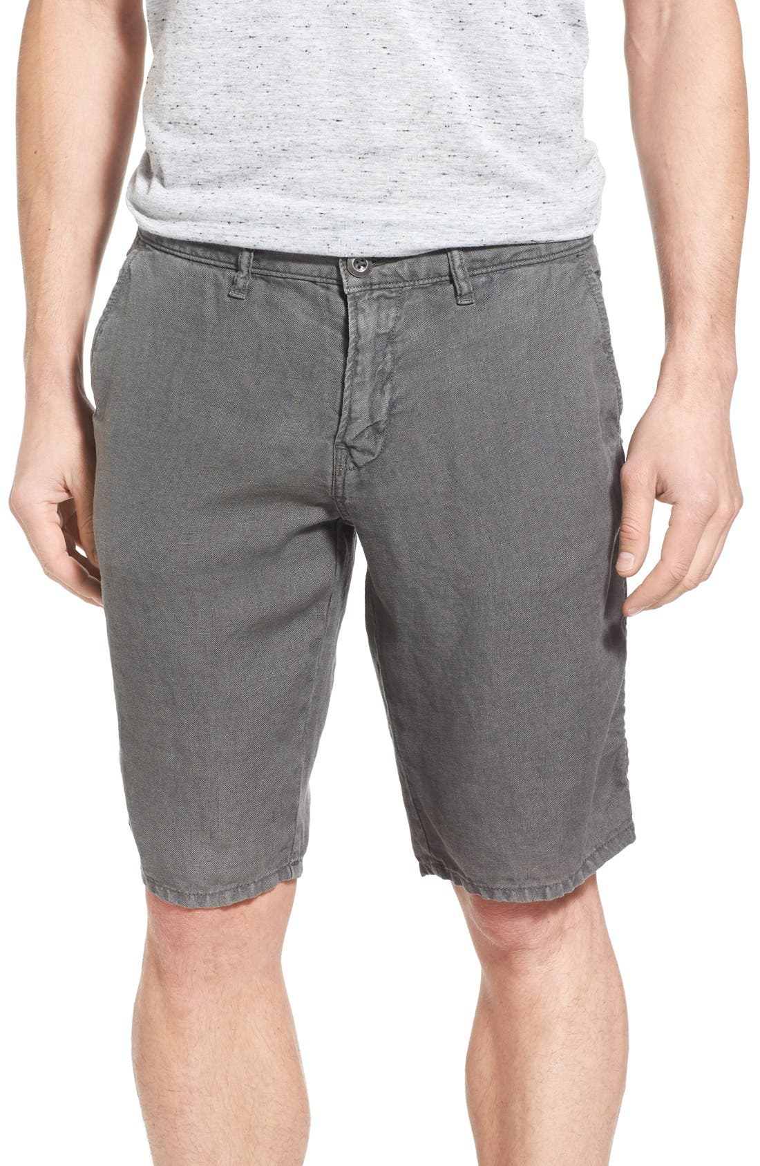 'Havana' Linen Shorts,                             Main thumbnail 5, color,
