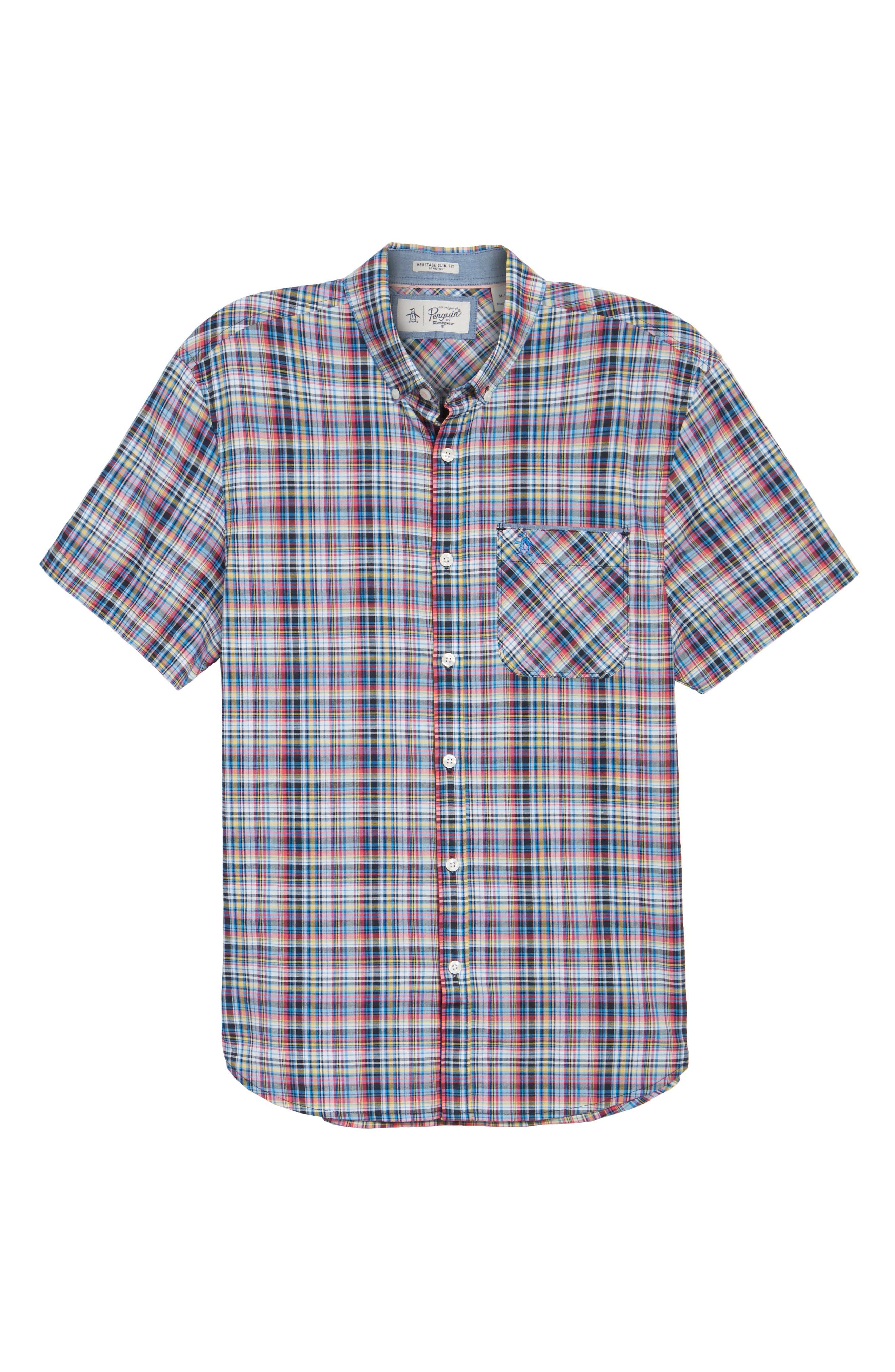 Check Dri-FIT Shirt,                             Alternate thumbnail 6, color,                             010