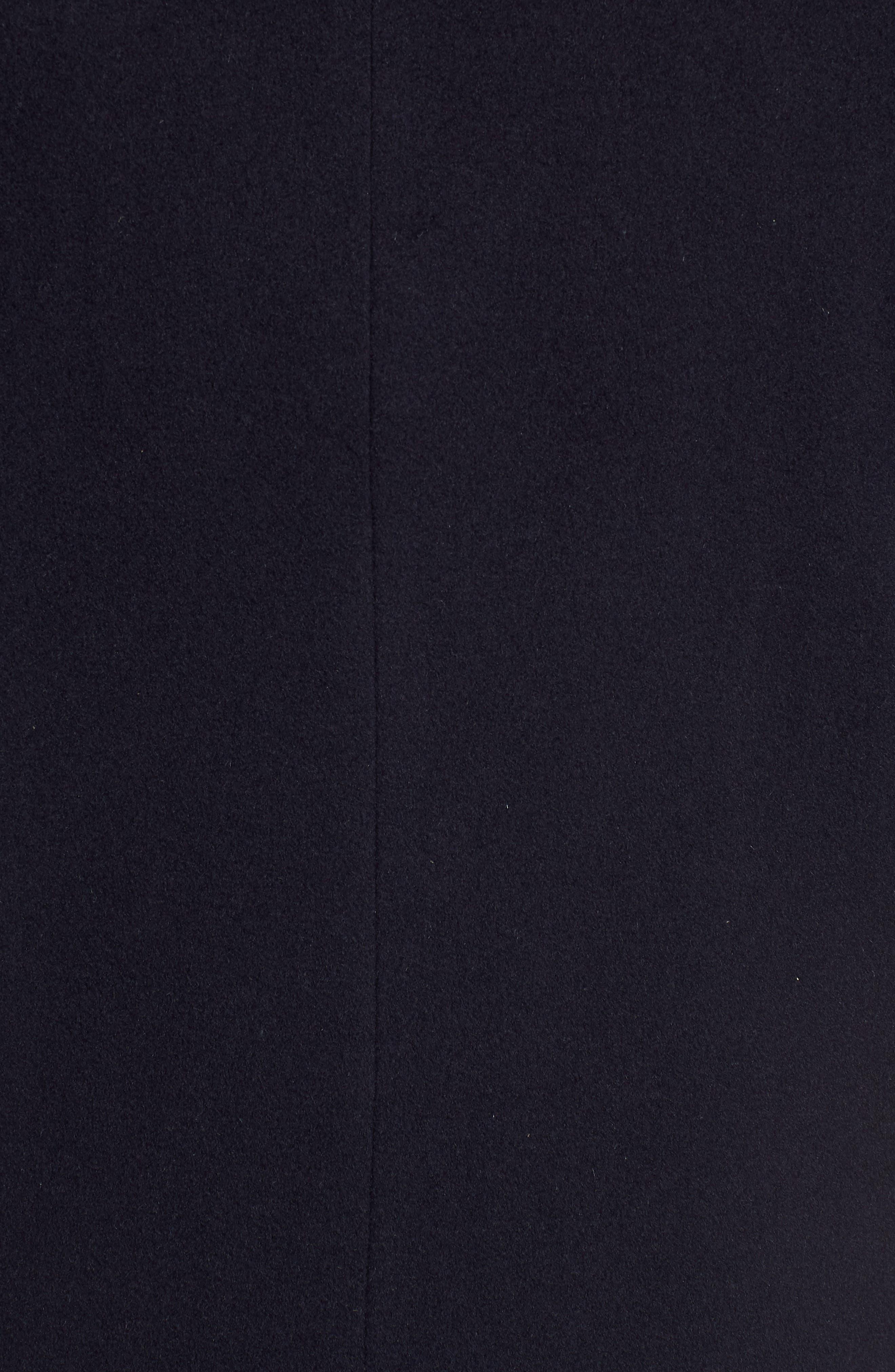 Italian Wool Blend Overcoat,                             Alternate thumbnail 18, color,