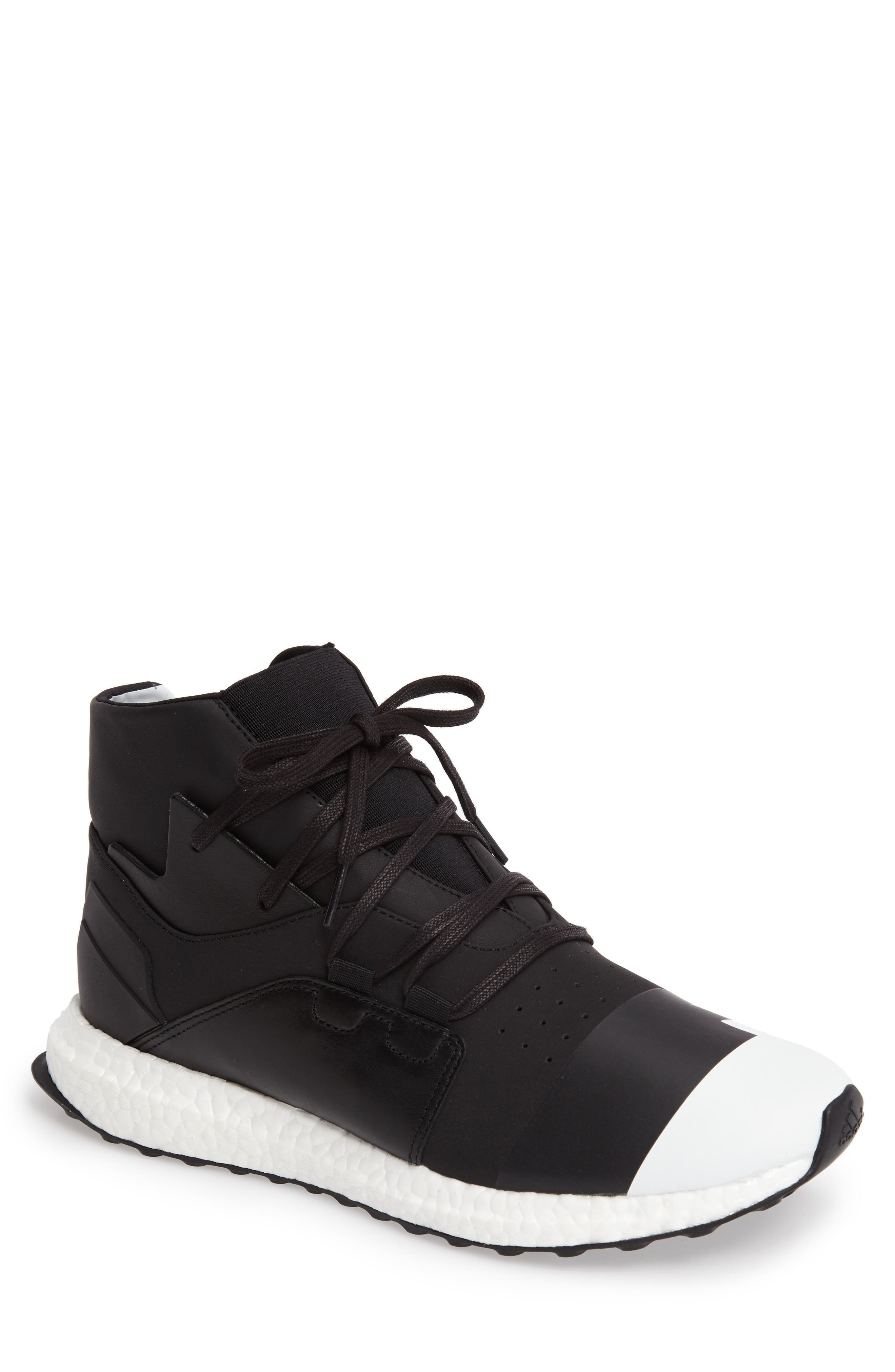 Y-3 Kozoko High Sneaker, Main, color, 001