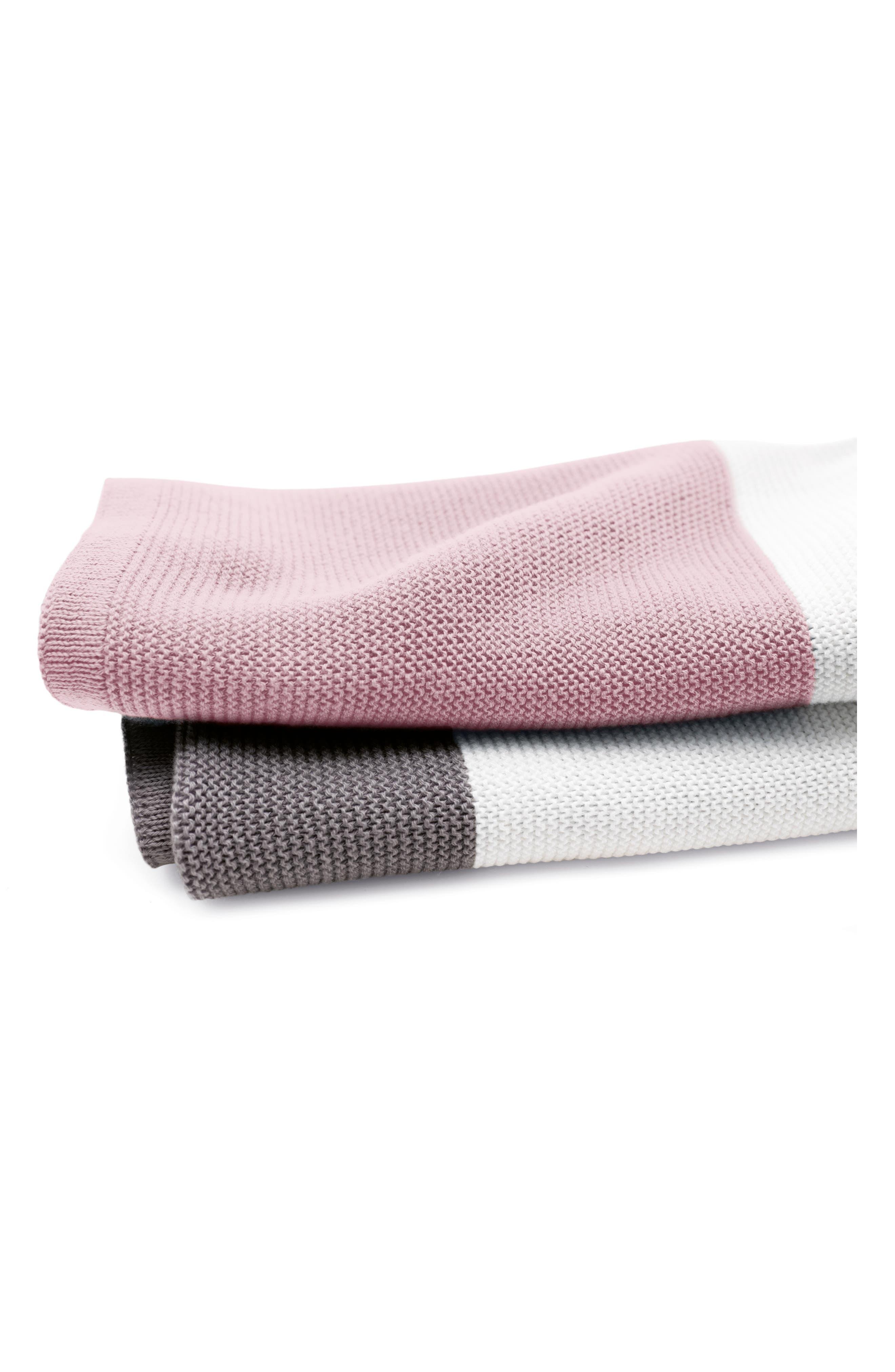 Light Cotton Blanket,                             Alternate thumbnail 2, color,                             SOFT PINK