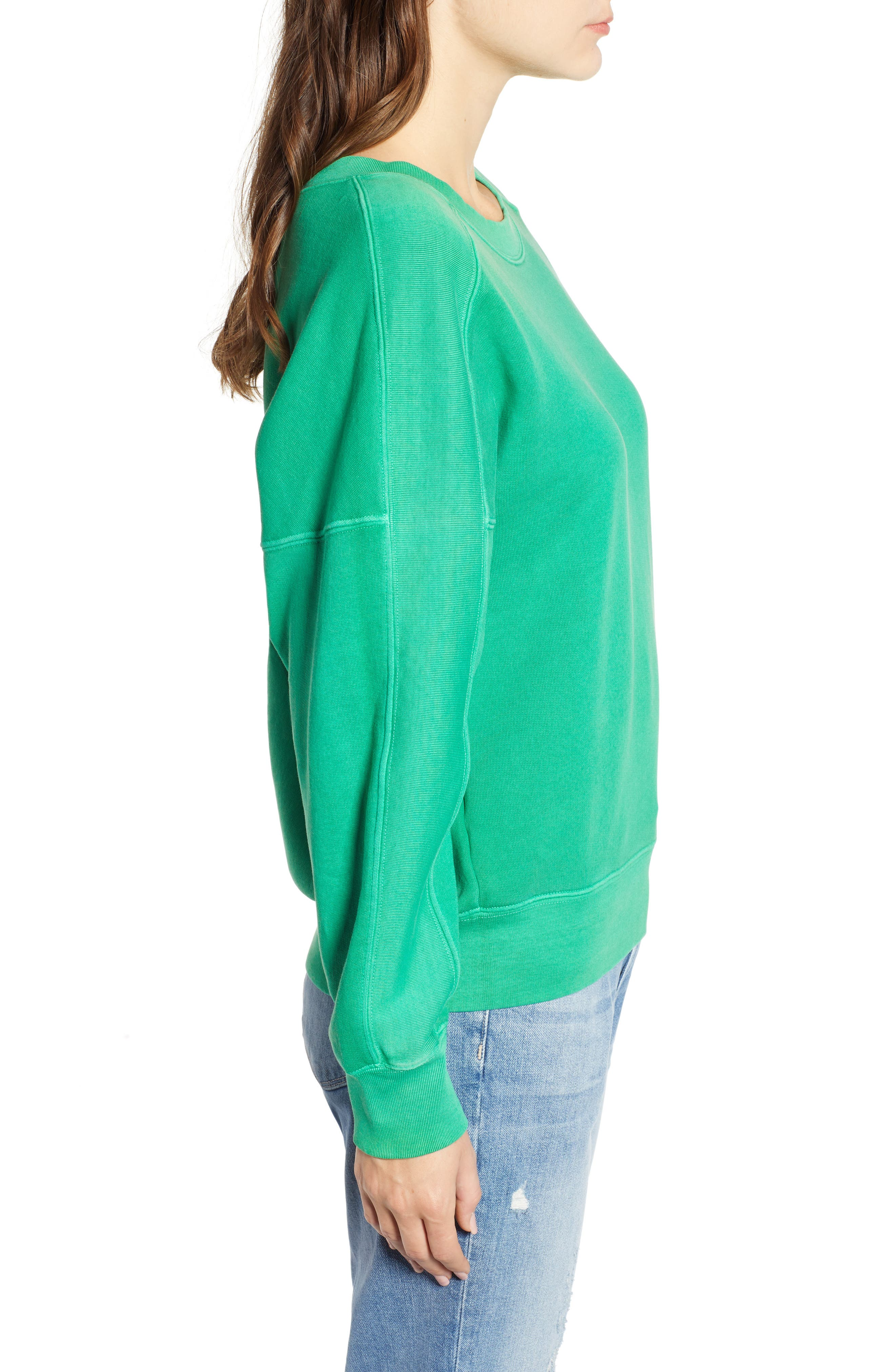 Neon Pullover,                             Alternate thumbnail 3, color,                             GREEN
