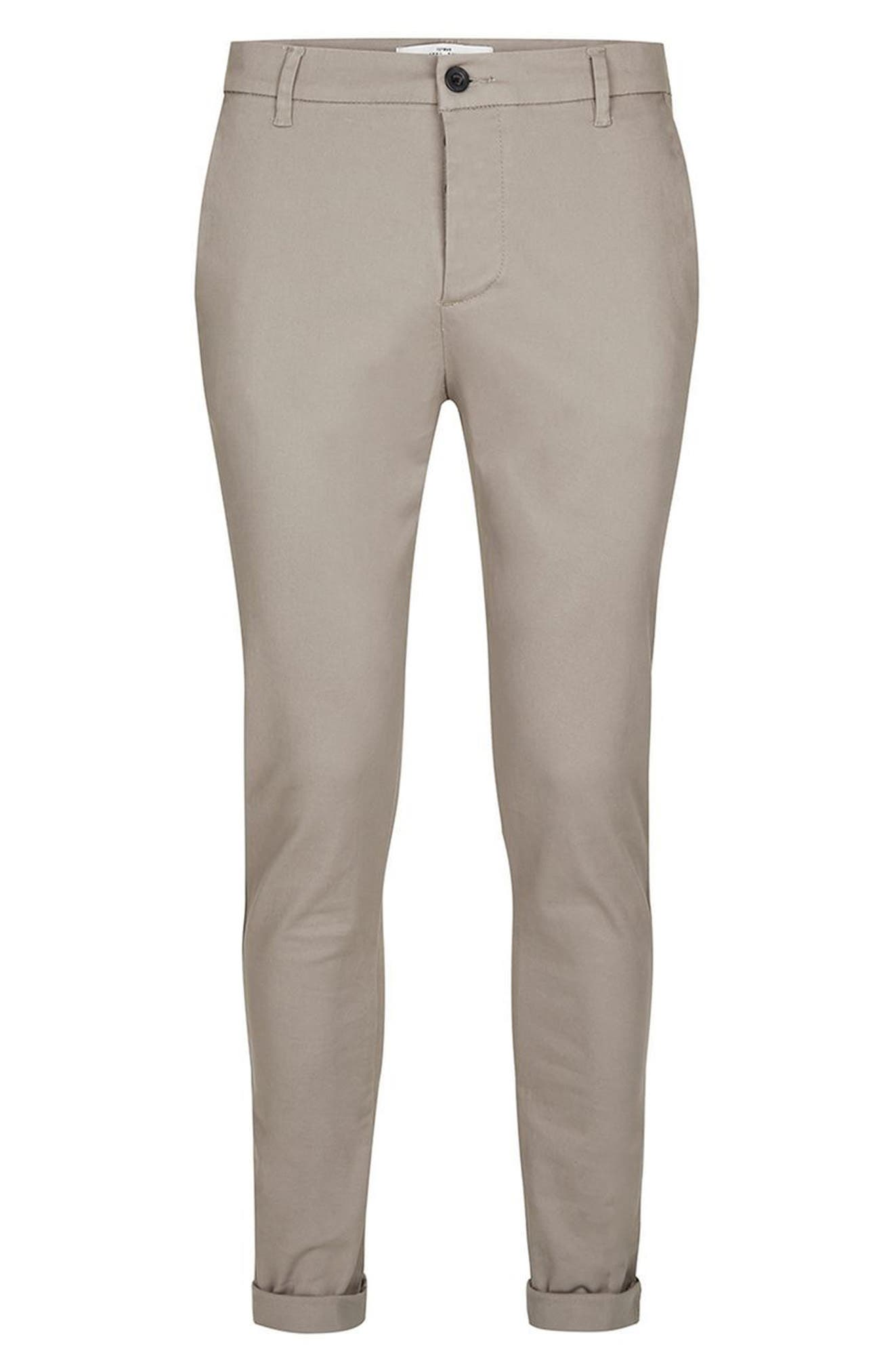 Skinny Fit Chinos,                             Alternate thumbnail 7, color,