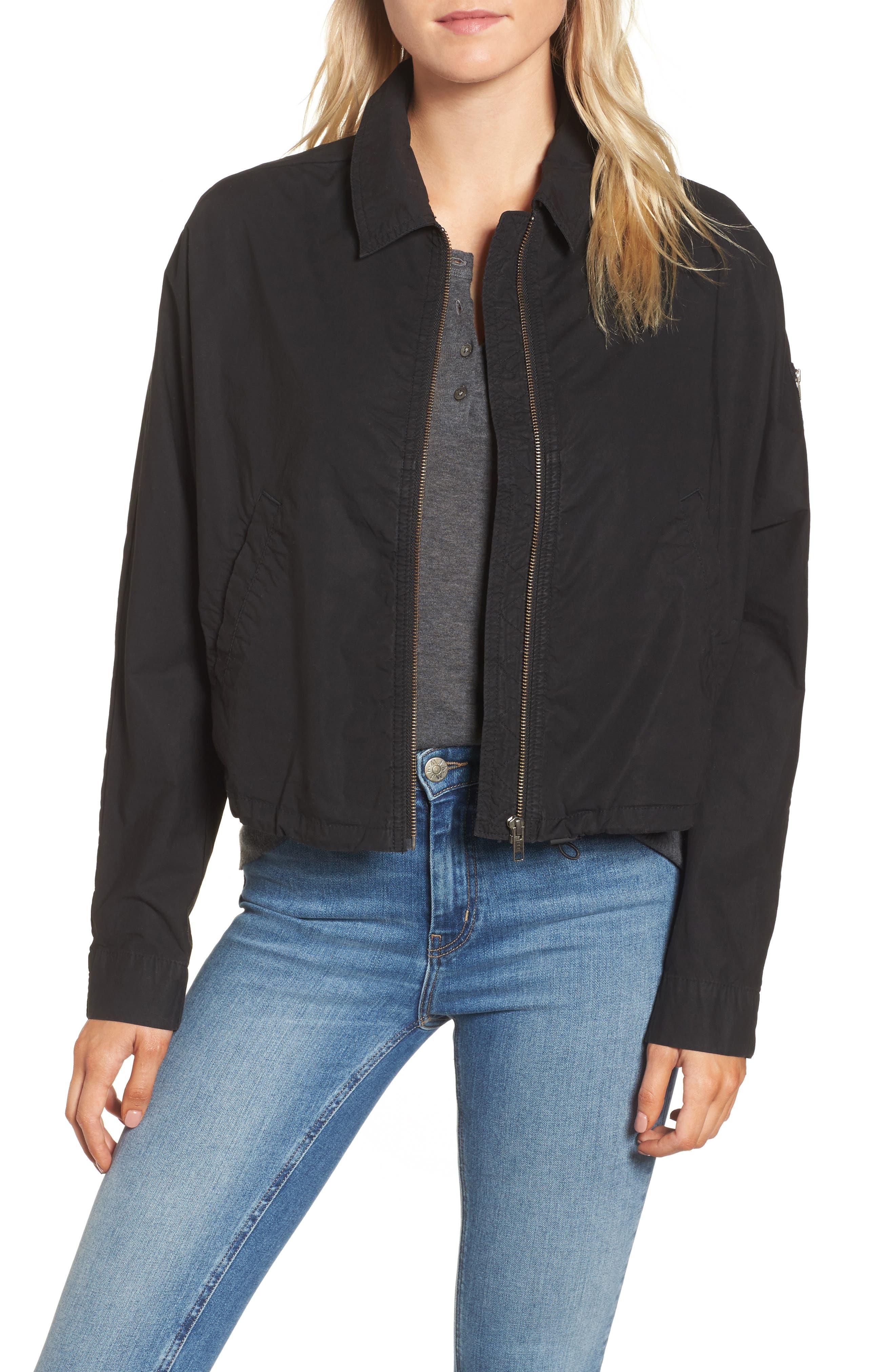 Dolman Sleeve Bomber Jacket,                         Main,                         color,