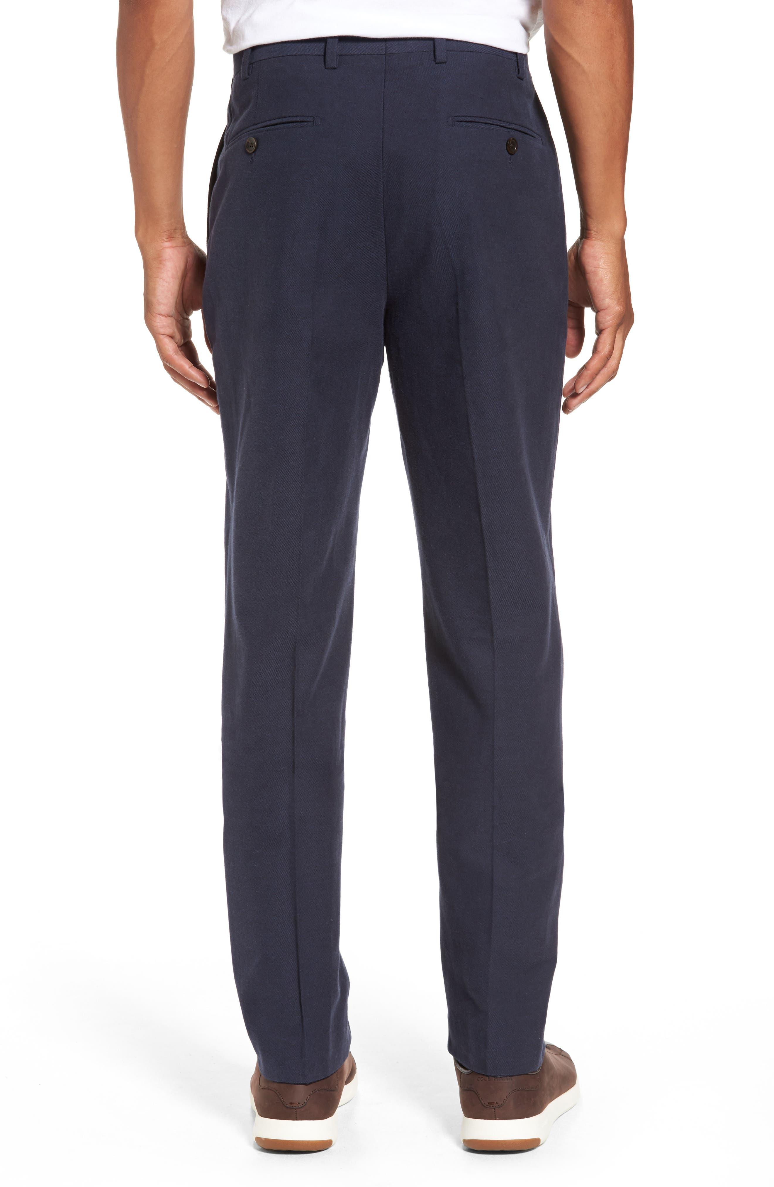 Pembroke Slim Fit Twill Pants,                             Alternate thumbnail 2, color,                             410