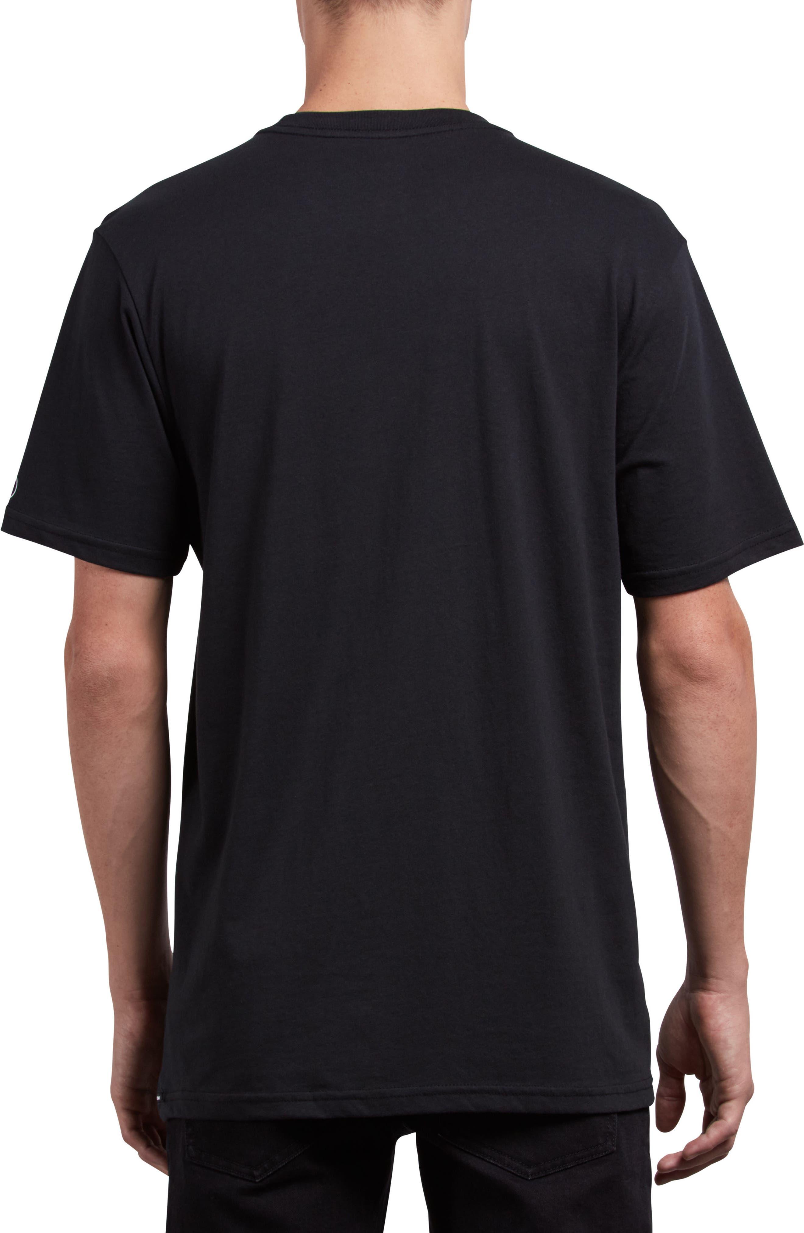 Premium Basic T-Shirt,                             Alternate thumbnail 2, color,                             BLACK