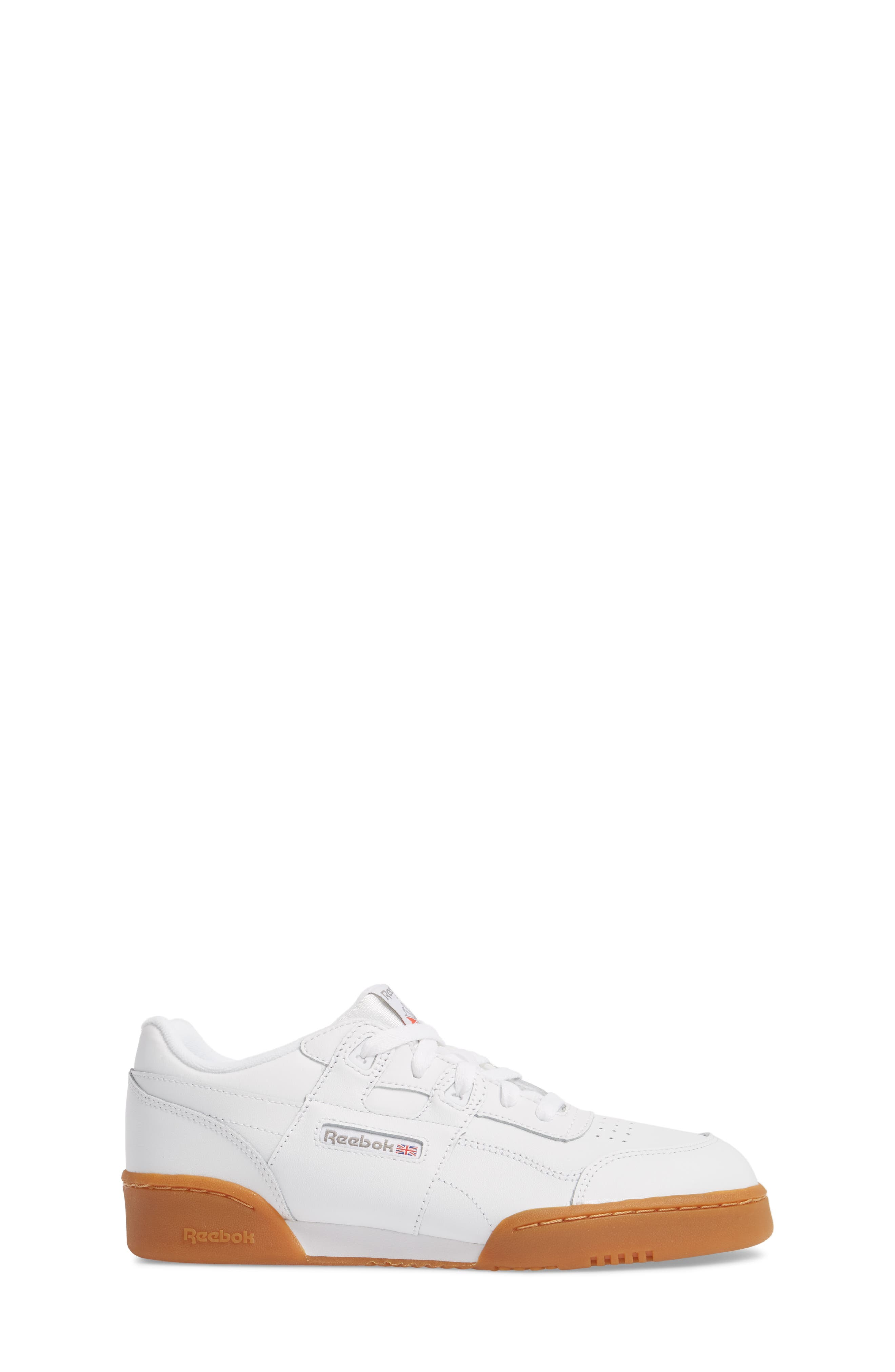 Workout Plus Sneaker,                             Alternate thumbnail 3, color,                             WHITE