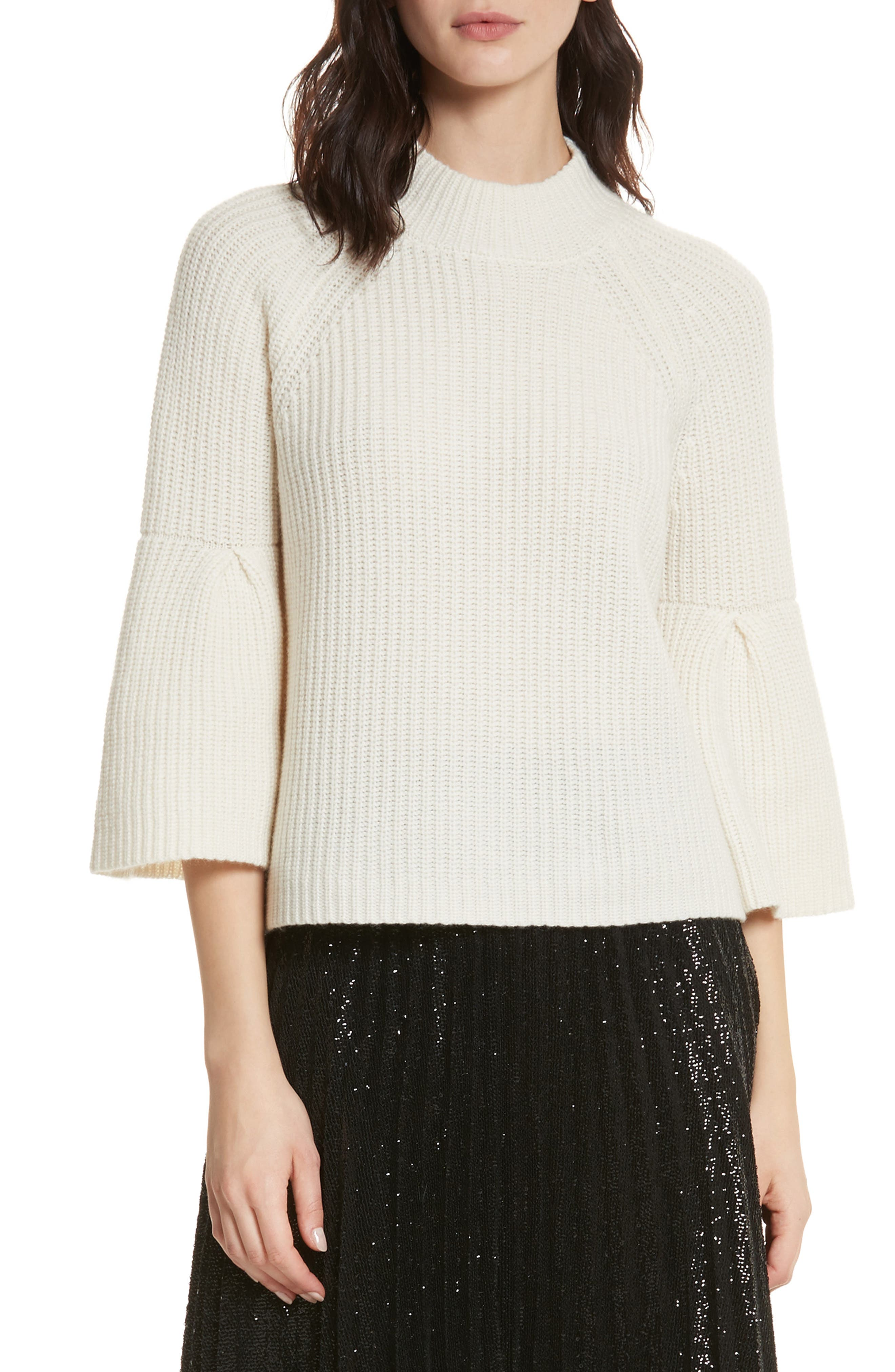 Ingrit Wool & Cashmere Sweater,                             Main thumbnail 1, color,                             114