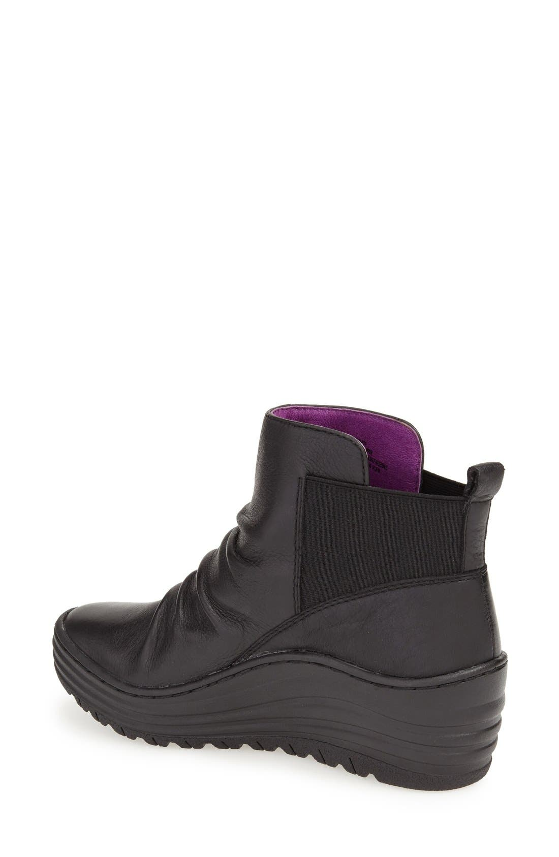 'Gilford' Wedge Bootie,                             Alternate thumbnail 2, color,                             001