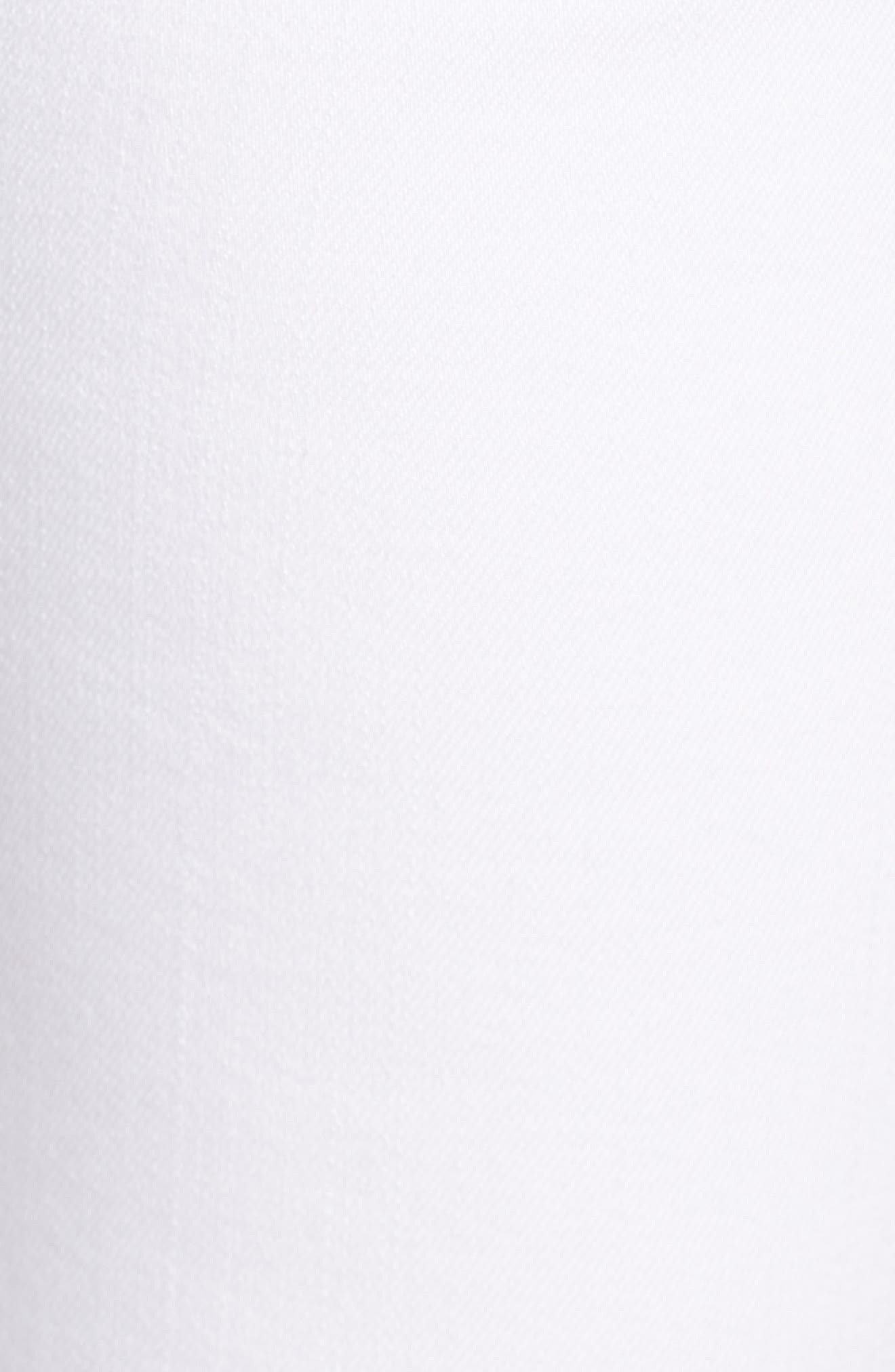 Ava Crop Skinny Jeans,                             Alternate thumbnail 6, color,                             100