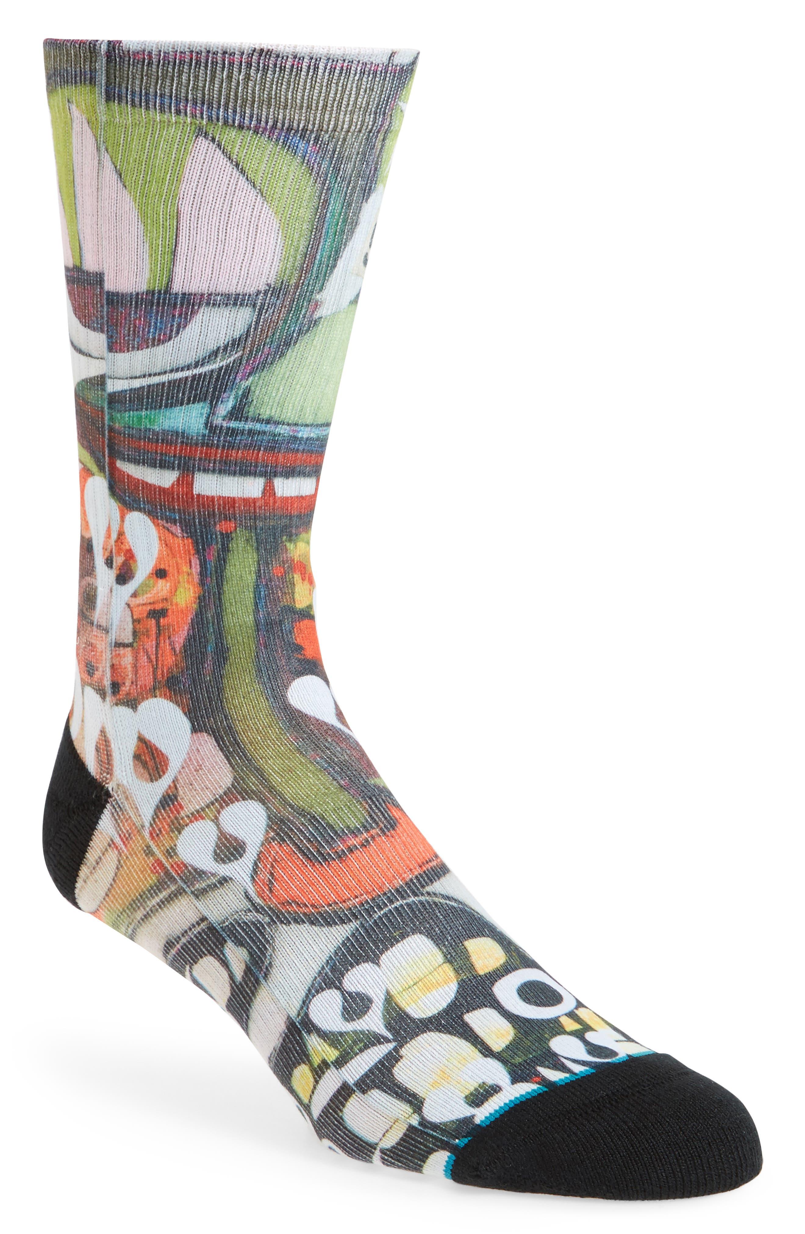 Frost Heart Socks,                             Main thumbnail 1, color,                             400