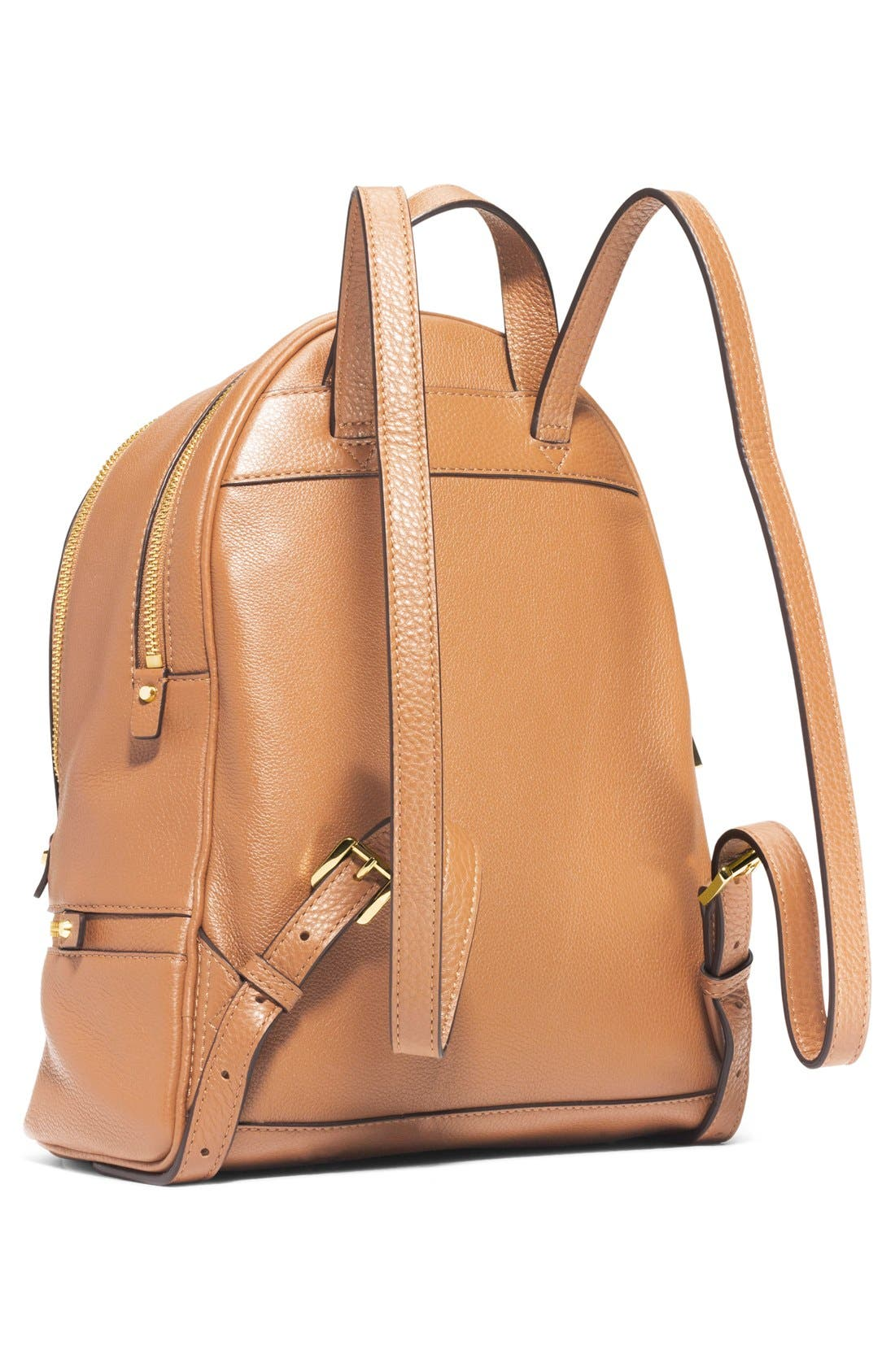 'Extra Small Rhea Zip' Leather Backpack,                             Alternate thumbnail 15, color,