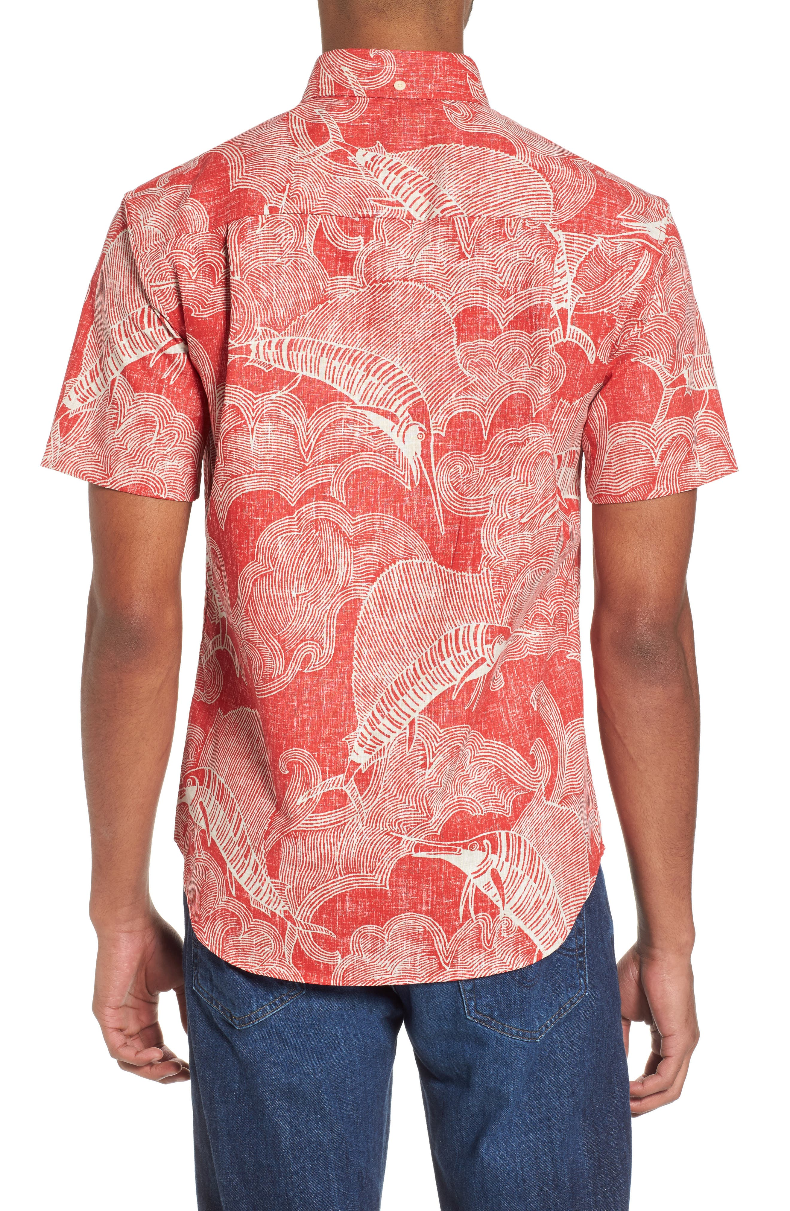 The Search Tailored Fit Print Sport Shirt,                             Alternate thumbnail 2, color,                             622