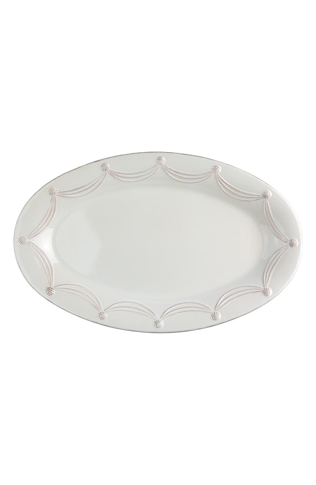 'Berry and Thread' Oval Platter,                         Main,                         color, 100