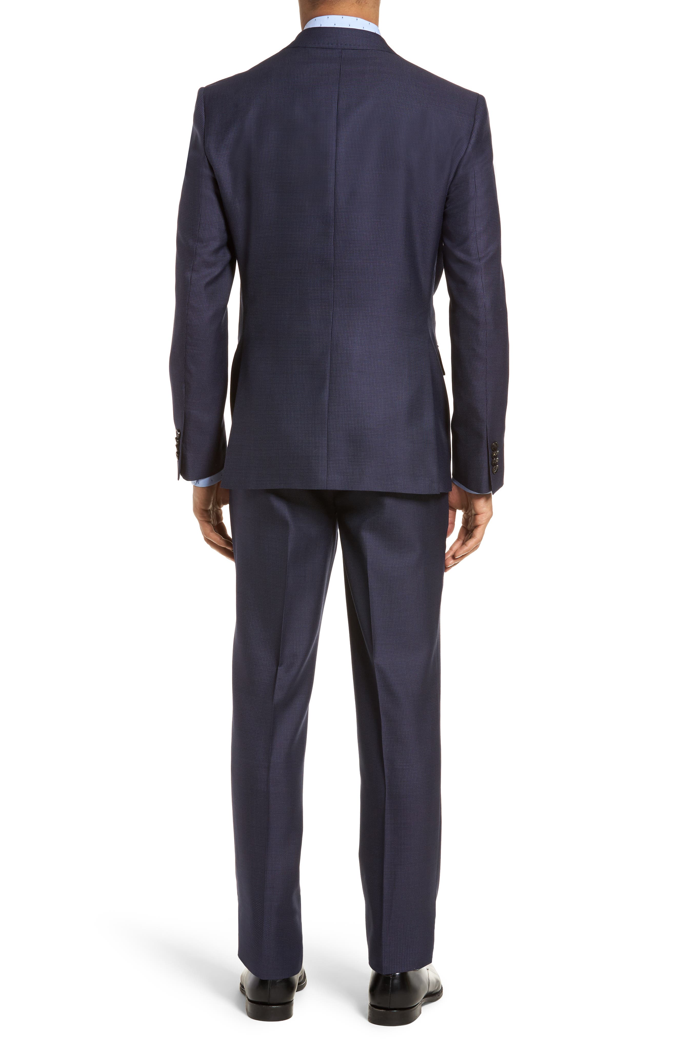 Roger Extra Slim Fit Solid Wool Suit,                             Alternate thumbnail 2, color,                             410
