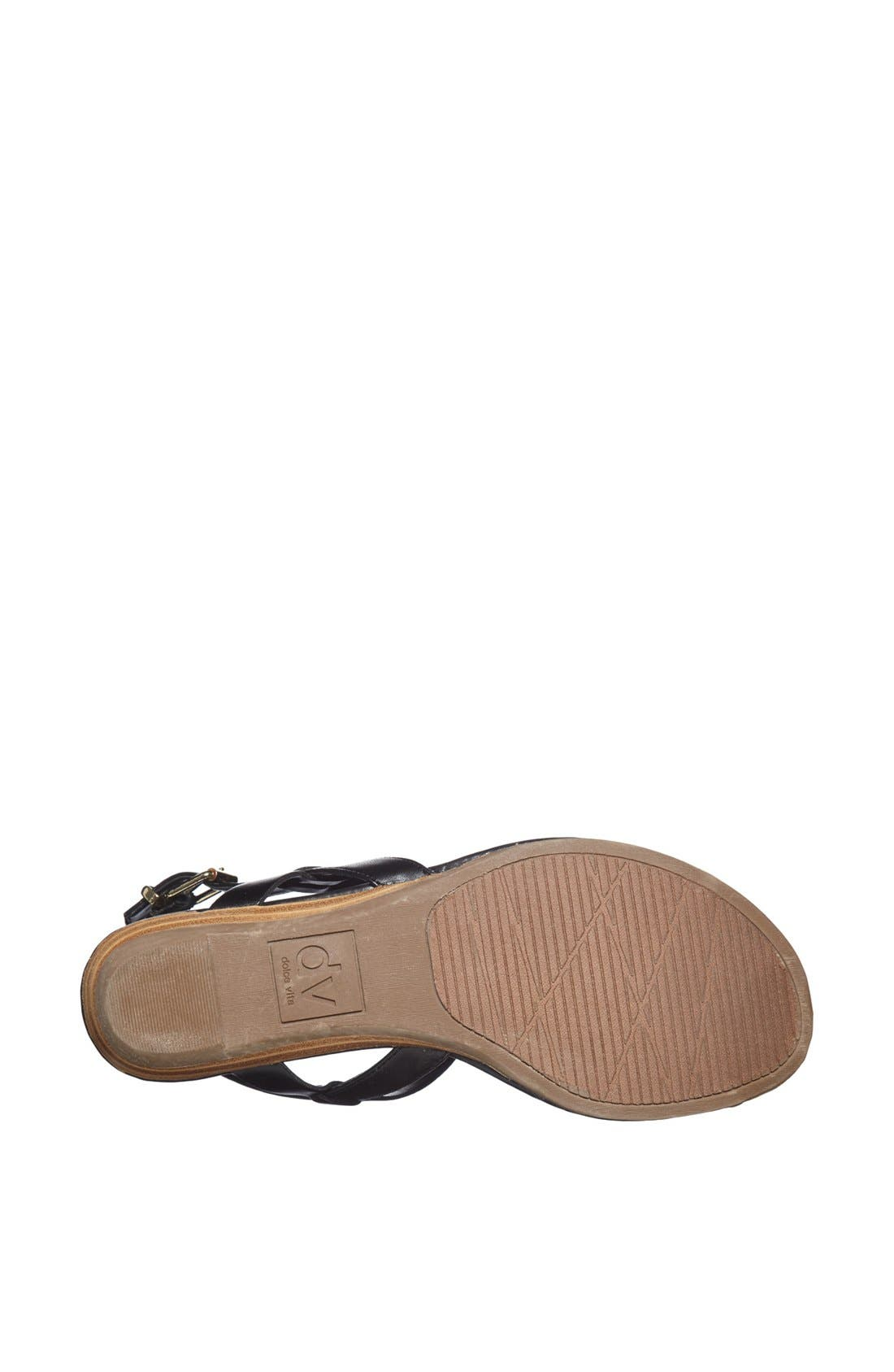 DV by Dolce Vita 'Abley' Thong Sandal,                             Alternate thumbnail 3, color,                             001