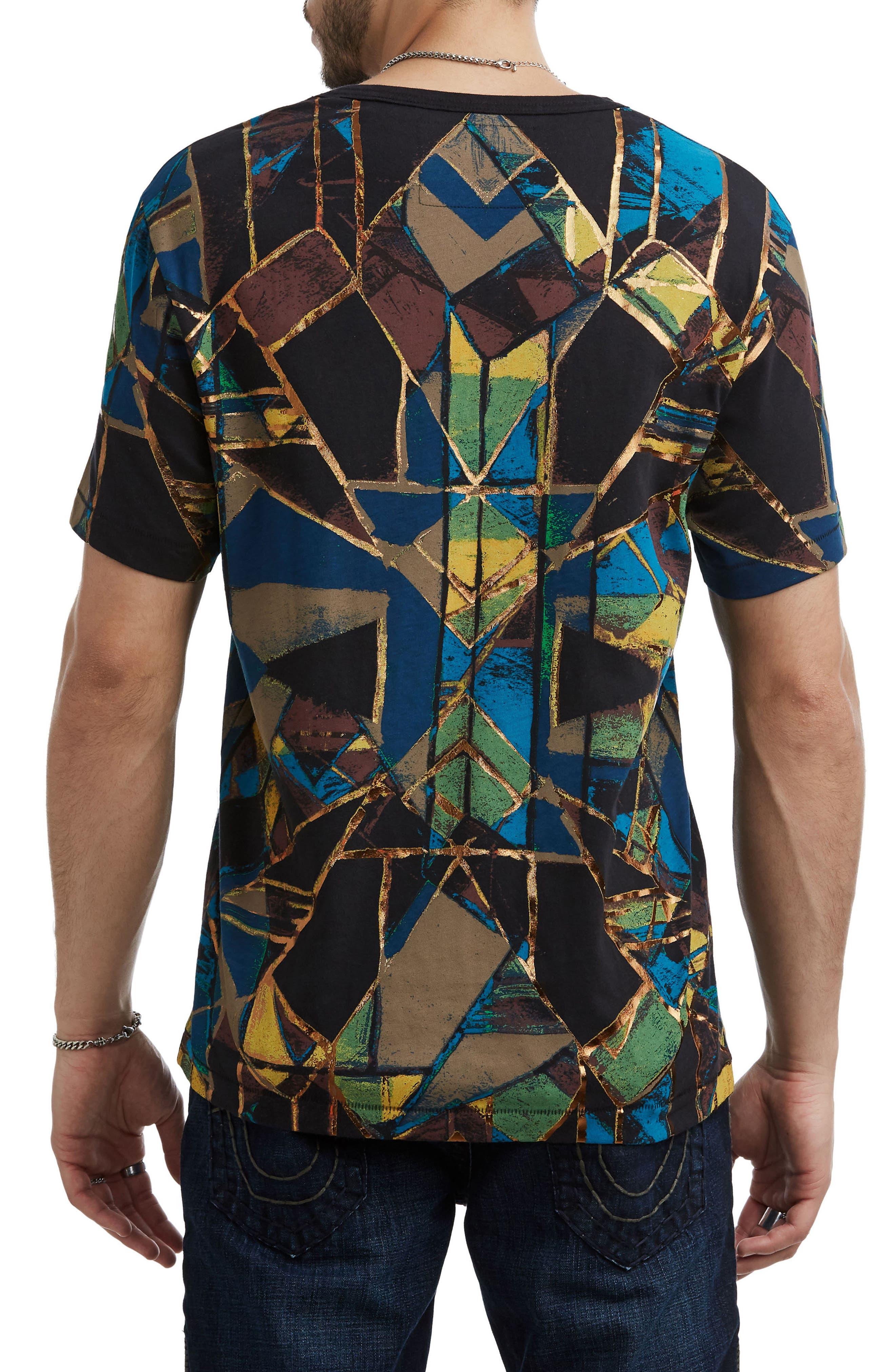 Limelight Graphic T-Shirt,                             Alternate thumbnail 2, color,                             BLACK MULTI