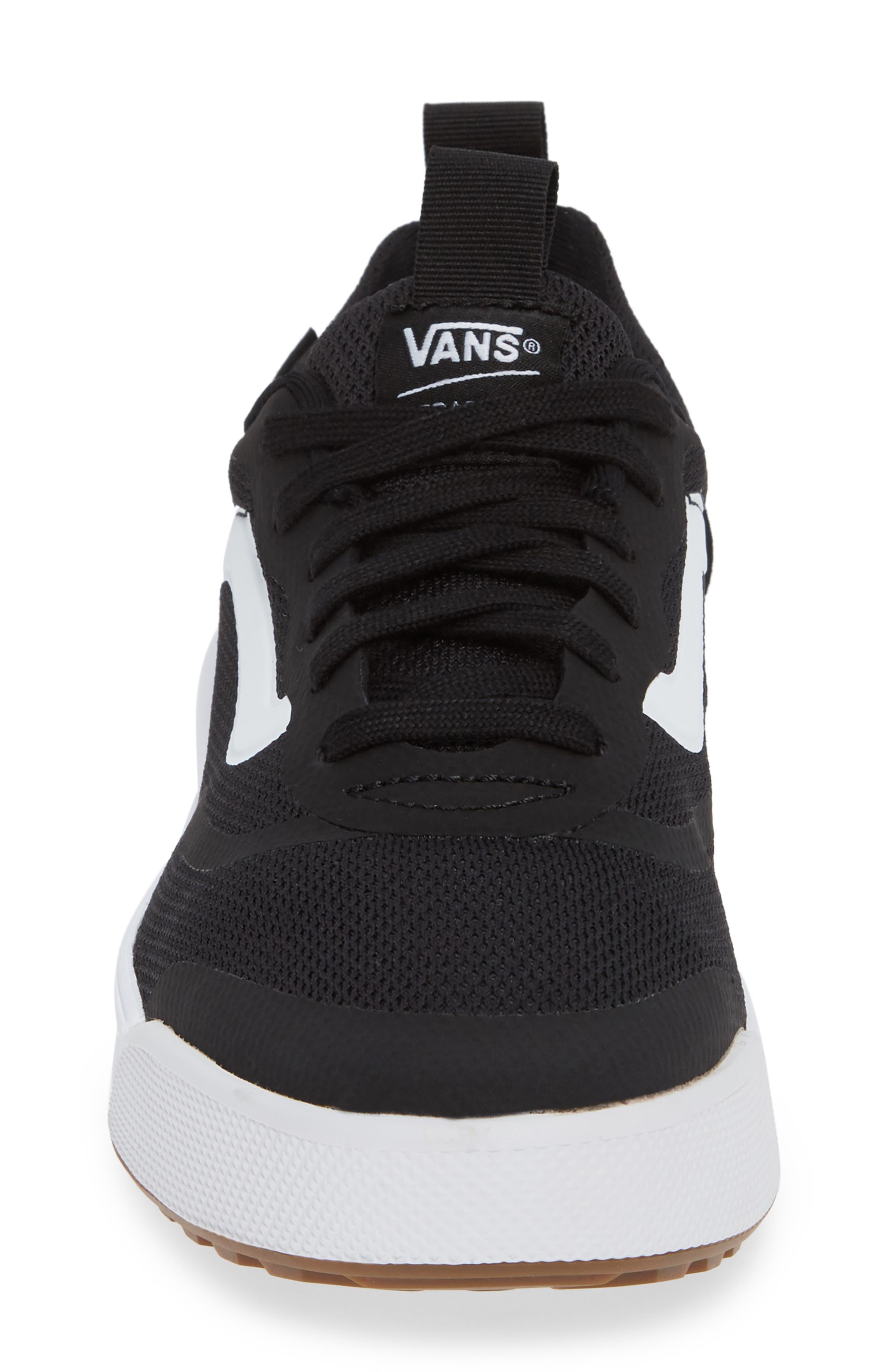 Ultrarange Rapidwield Sneaker,                             Alternate thumbnail 4, color,                             BLACK/ WHITE MESH
