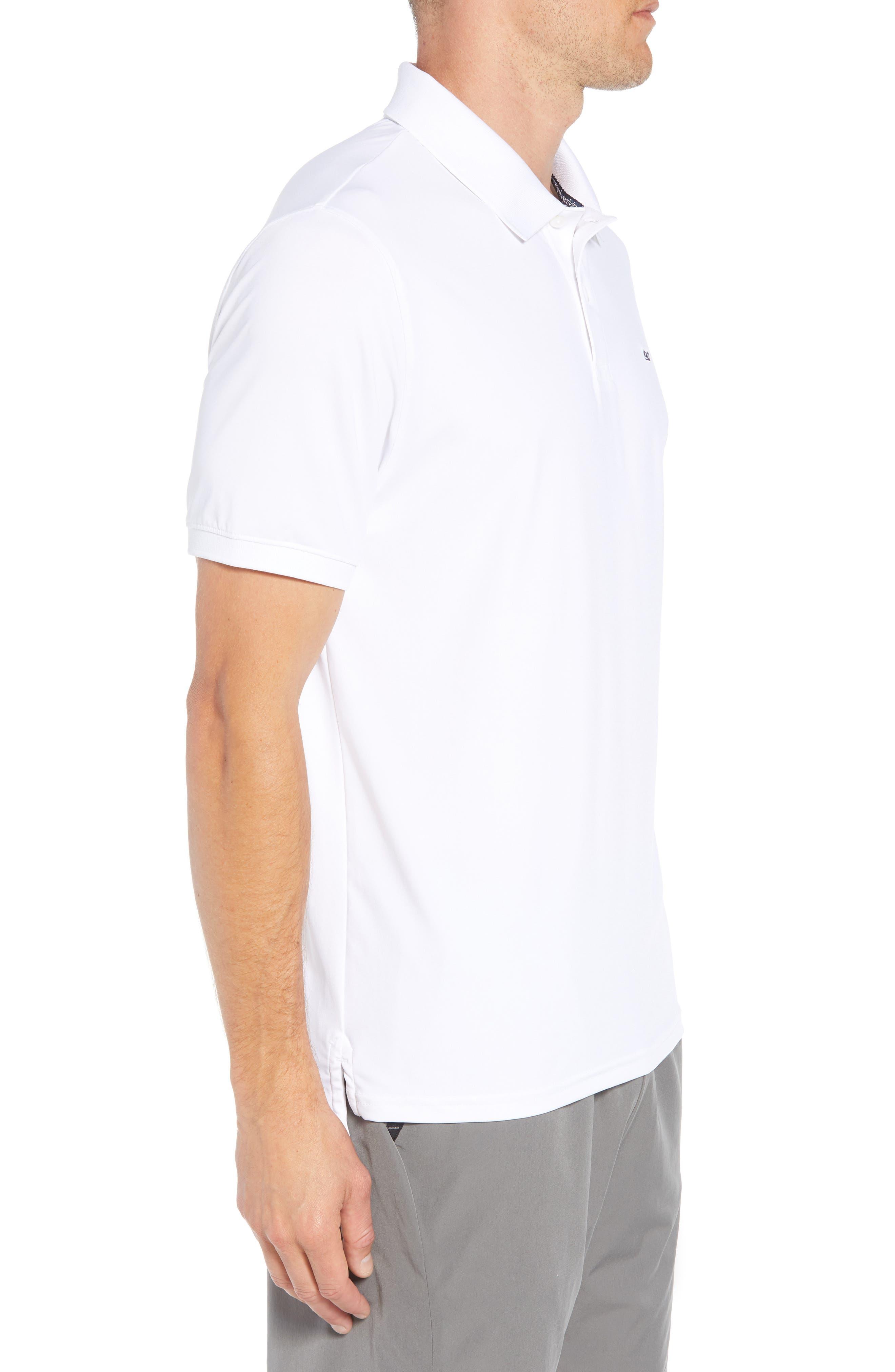 Jersey Polo,                             Alternate thumbnail 3, color,                             WHITE CAP