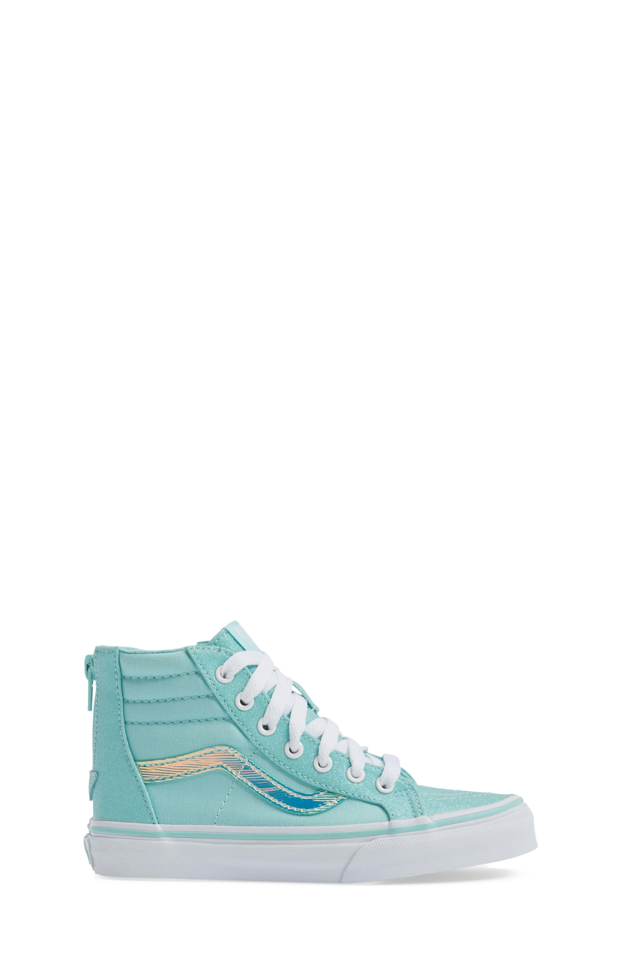 Sk8-Hi Zip Sneaker,                             Alternate thumbnail 3, color,                             450