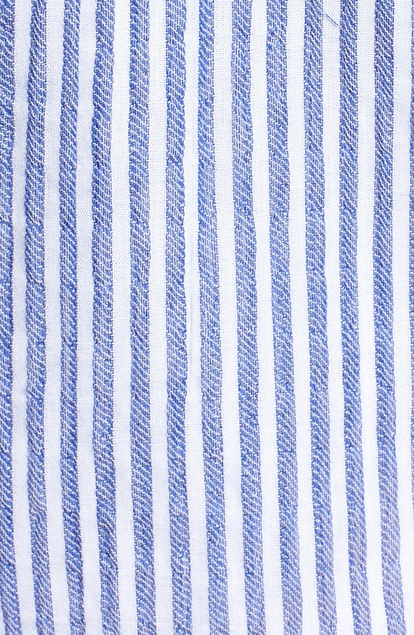 BISHOP + YOUNG,                             Stripe Shorts,                             Alternate thumbnail 5, color,                             400