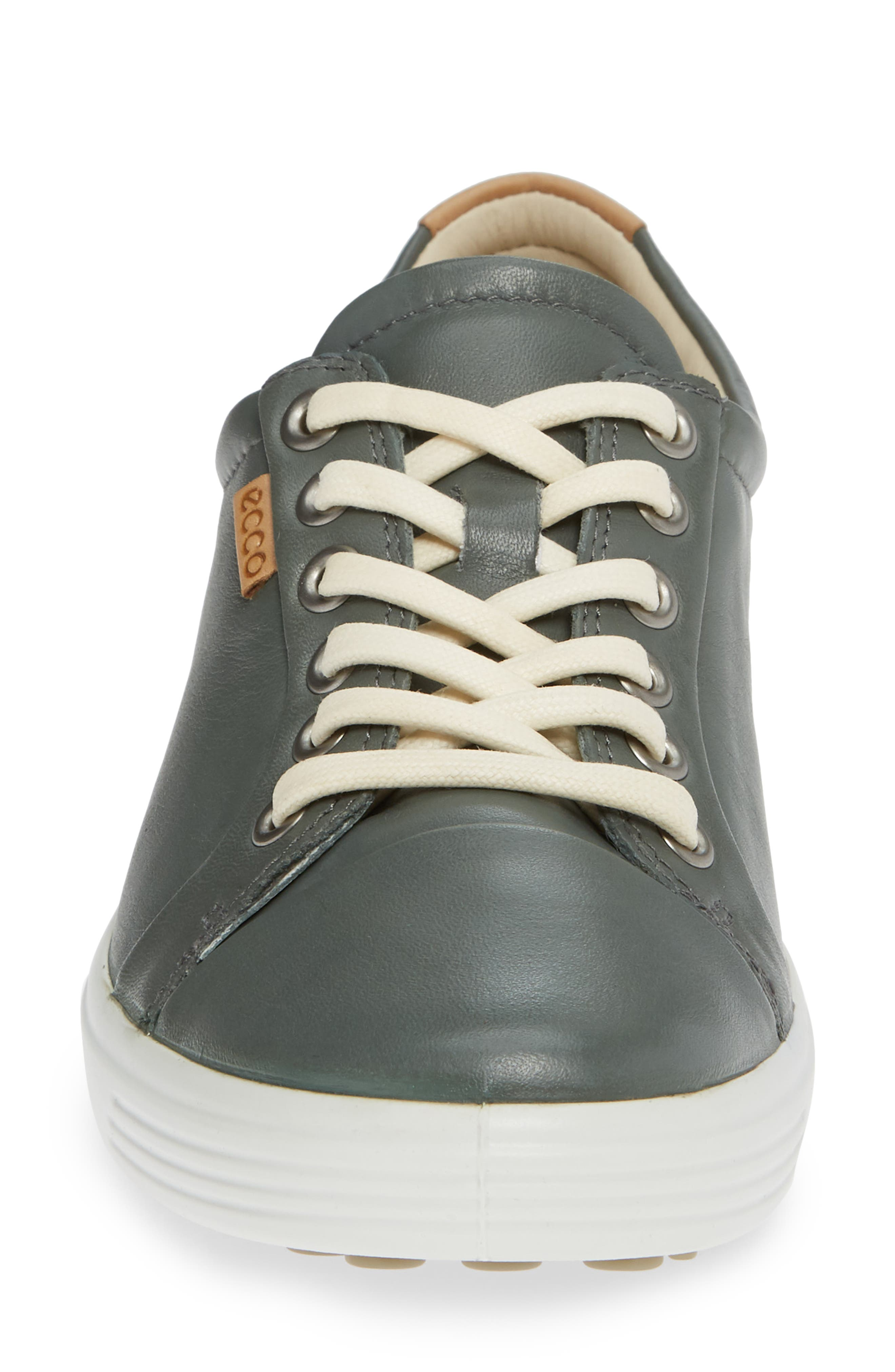 Soft 7 Sneaker,                             Alternate thumbnail 4, color,                             MOON LEATHER