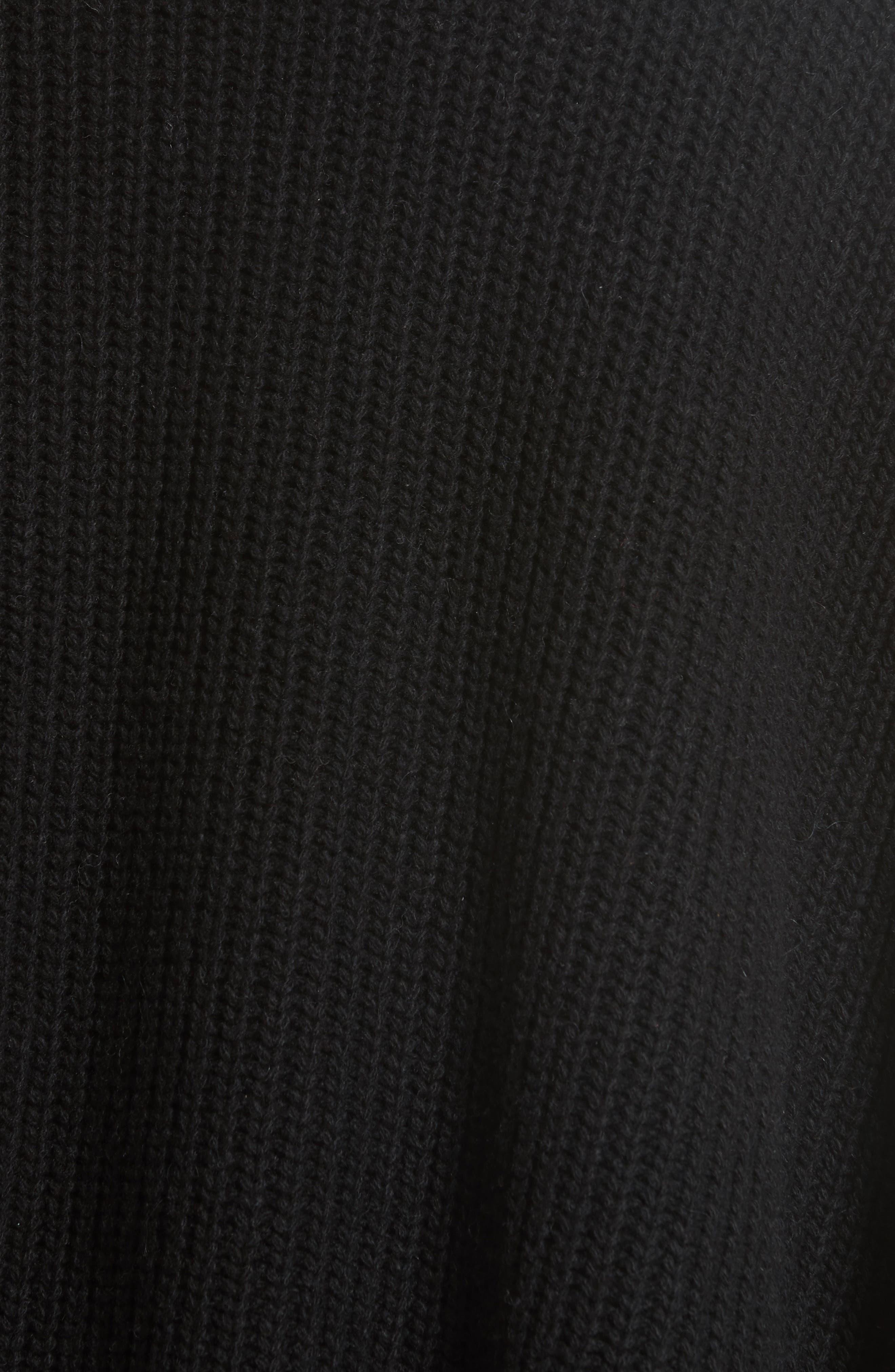Serina Oversize Sweater,                             Alternate thumbnail 5, color,                             007