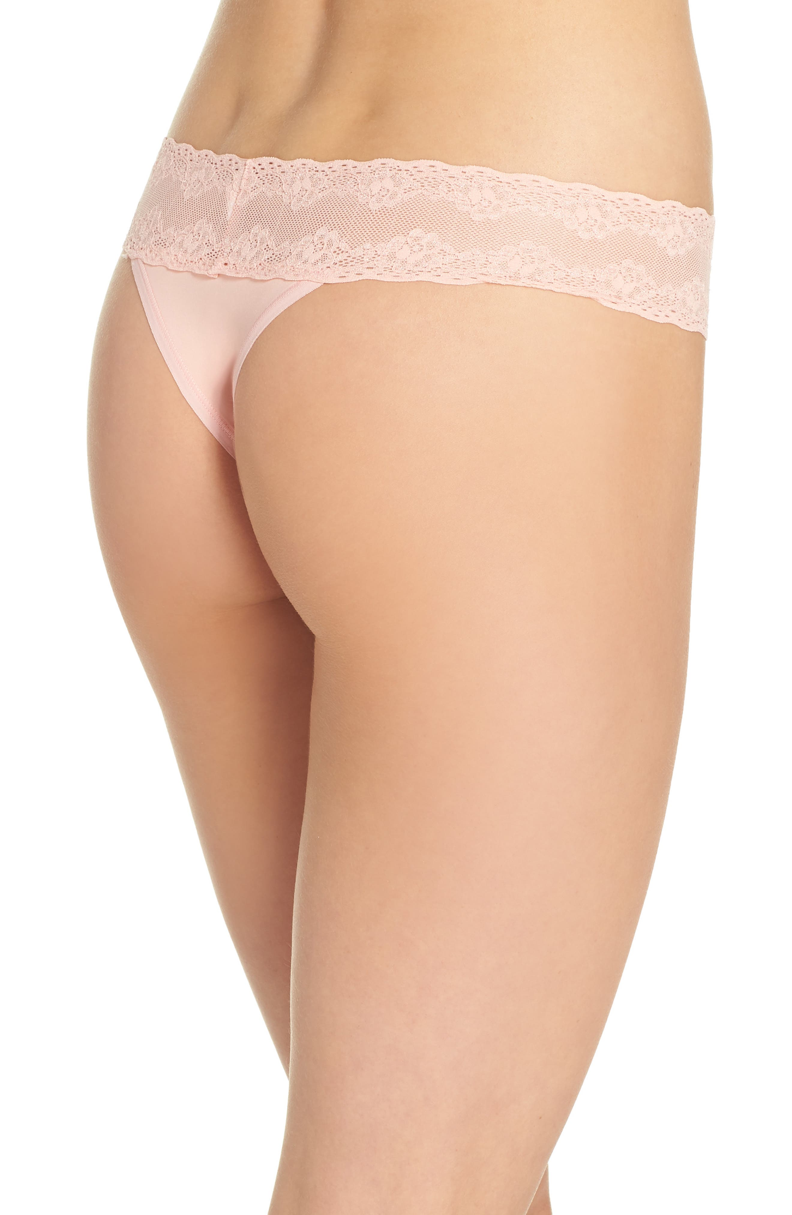 Bliss Perfection Thong,                             Alternate thumbnail 142, color,