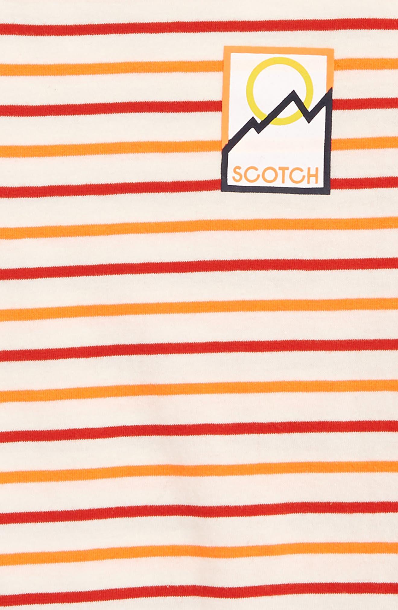 Regular Fit T-Shirt,                             Alternate thumbnail 2, color,                             ORANGE