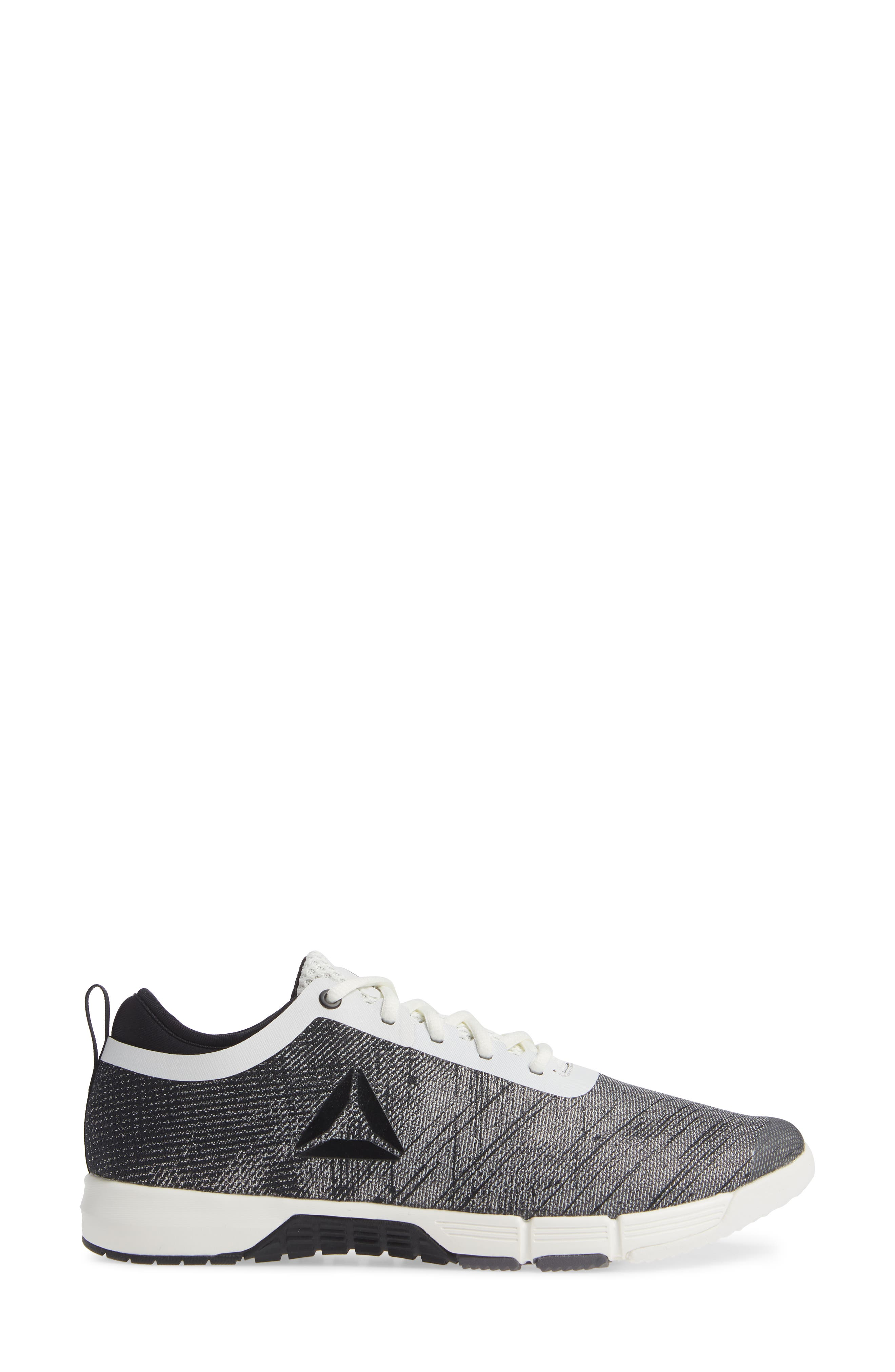 Speed Her TR Training Sneaker,                             Alternate thumbnail 3, color,                             CHALK/ BLACK/ ASH GREY