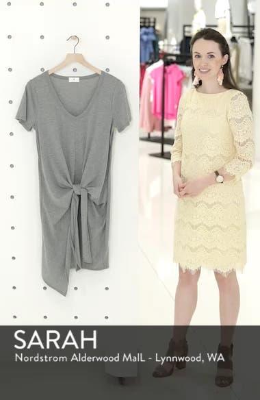 Tie Waist T-Shirt Dress, sales video thumbnail