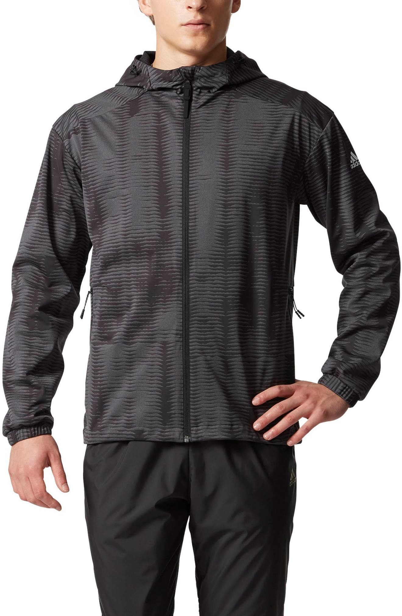 Woven Windbreaker,                             Main thumbnail 1, color,                             001