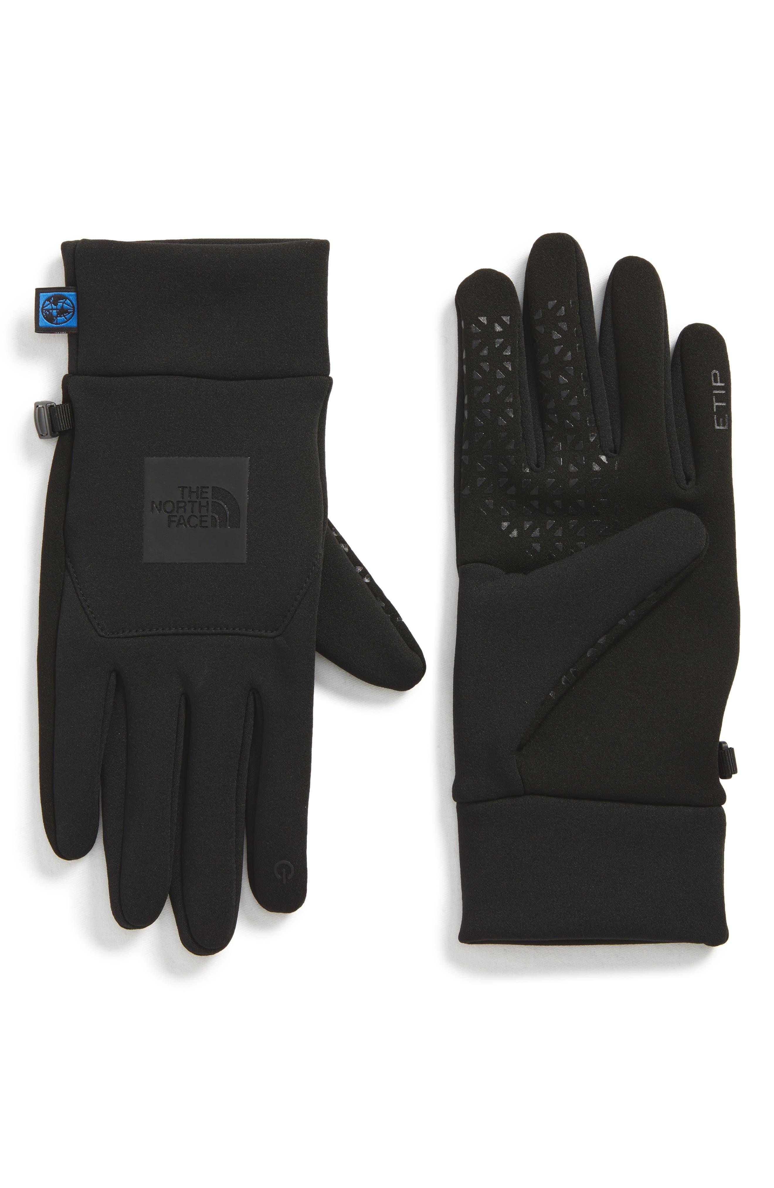 International Collection E-Tip Gloves,                             Main thumbnail 1, color,                             001