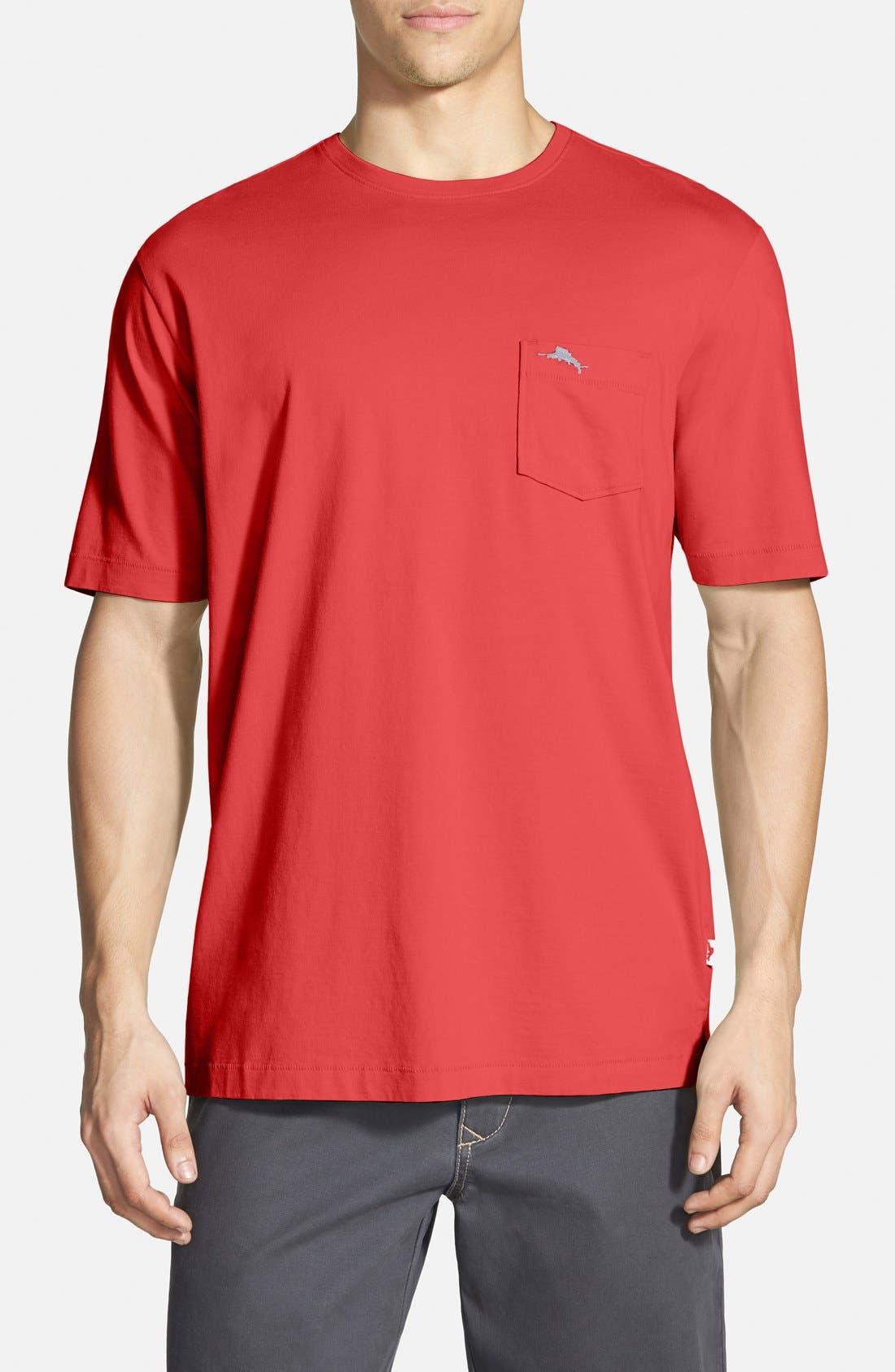 New Bali Sky Pima Cotton Pocket T-Shirt,                             Main thumbnail 46, color,