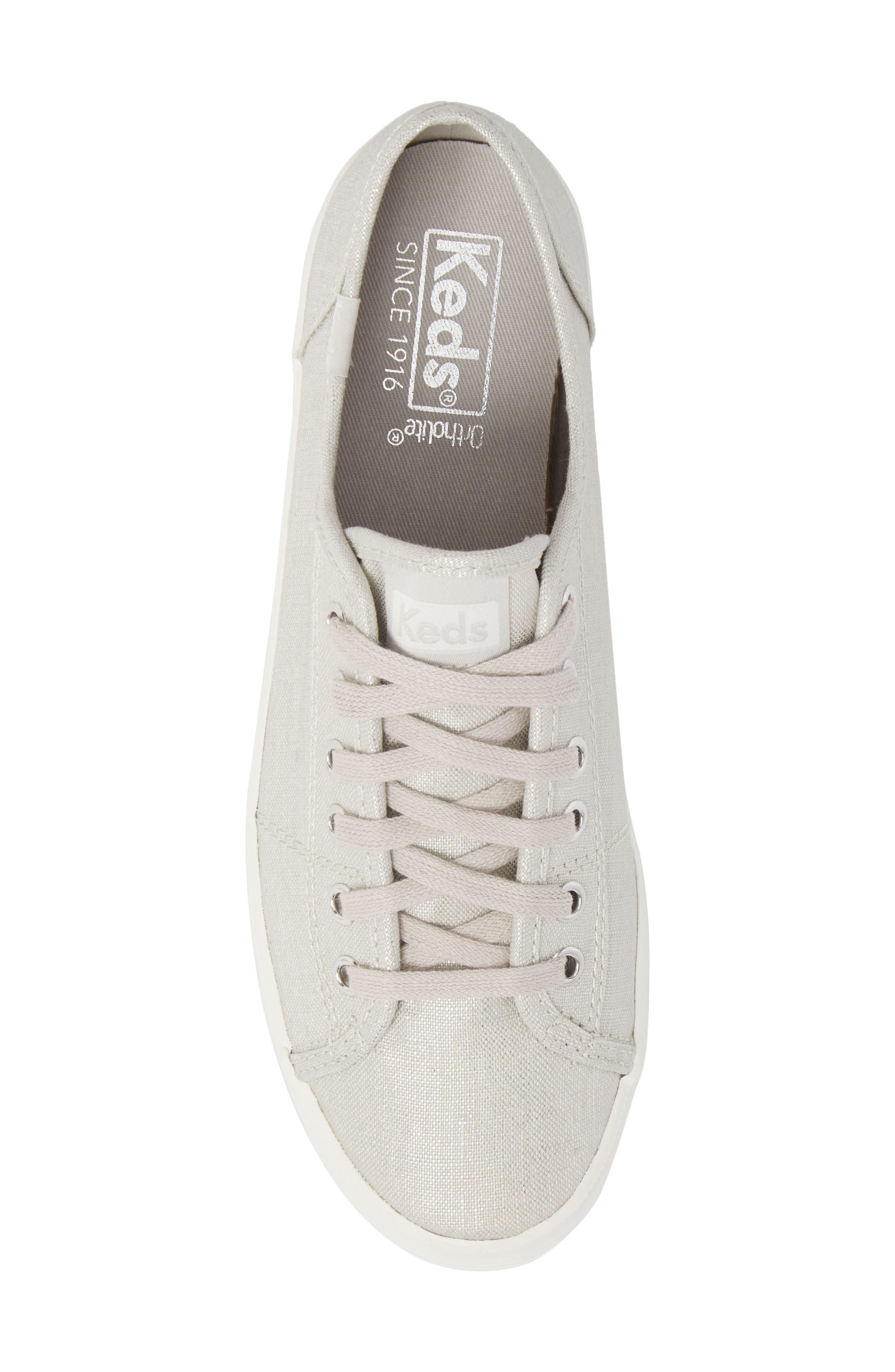 Kickstart Metallic Sneaker,                             Alternate thumbnail 5, color,                             040