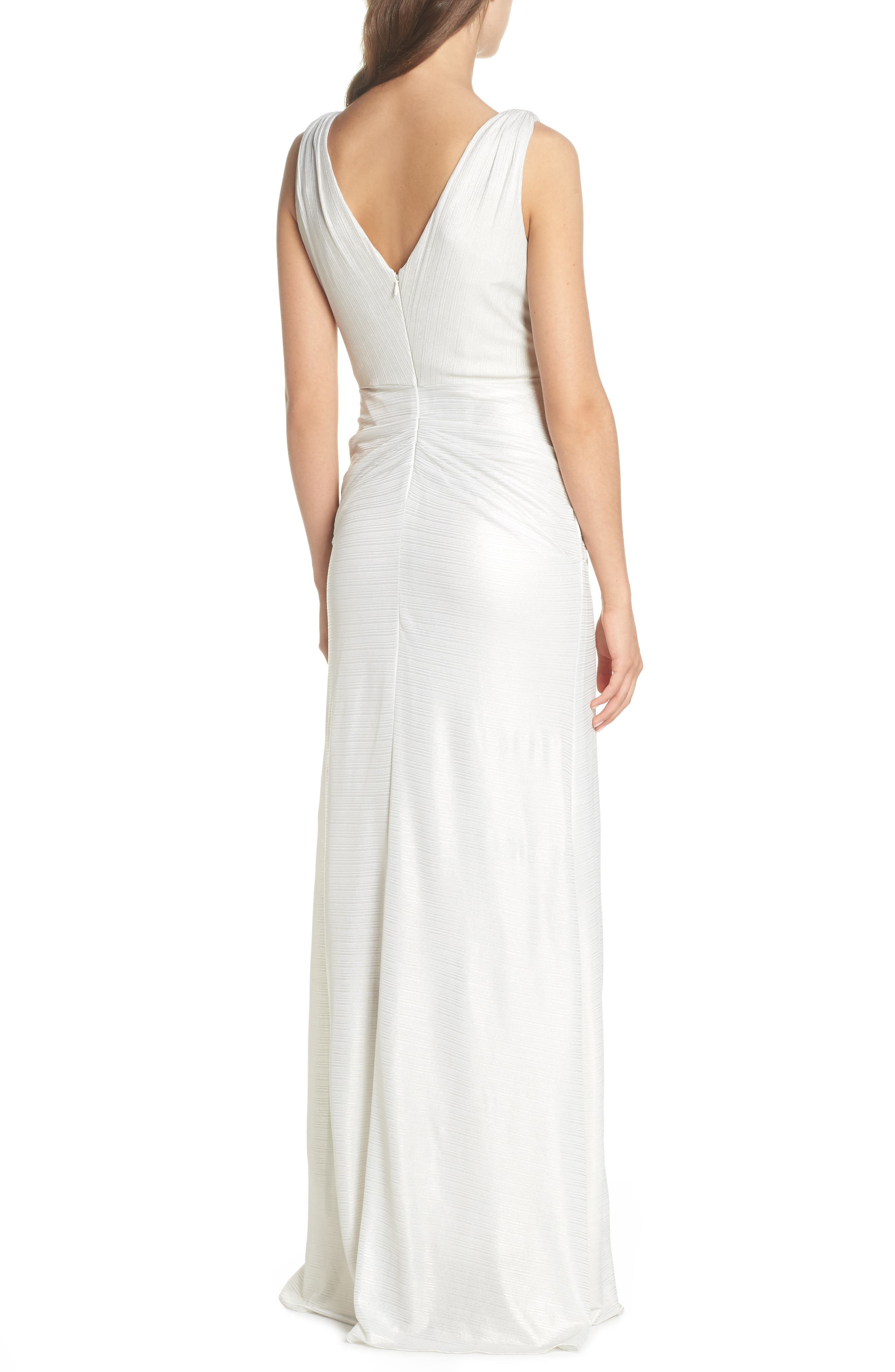 Ruched Gown,                             Alternate thumbnail 2, color,                             900