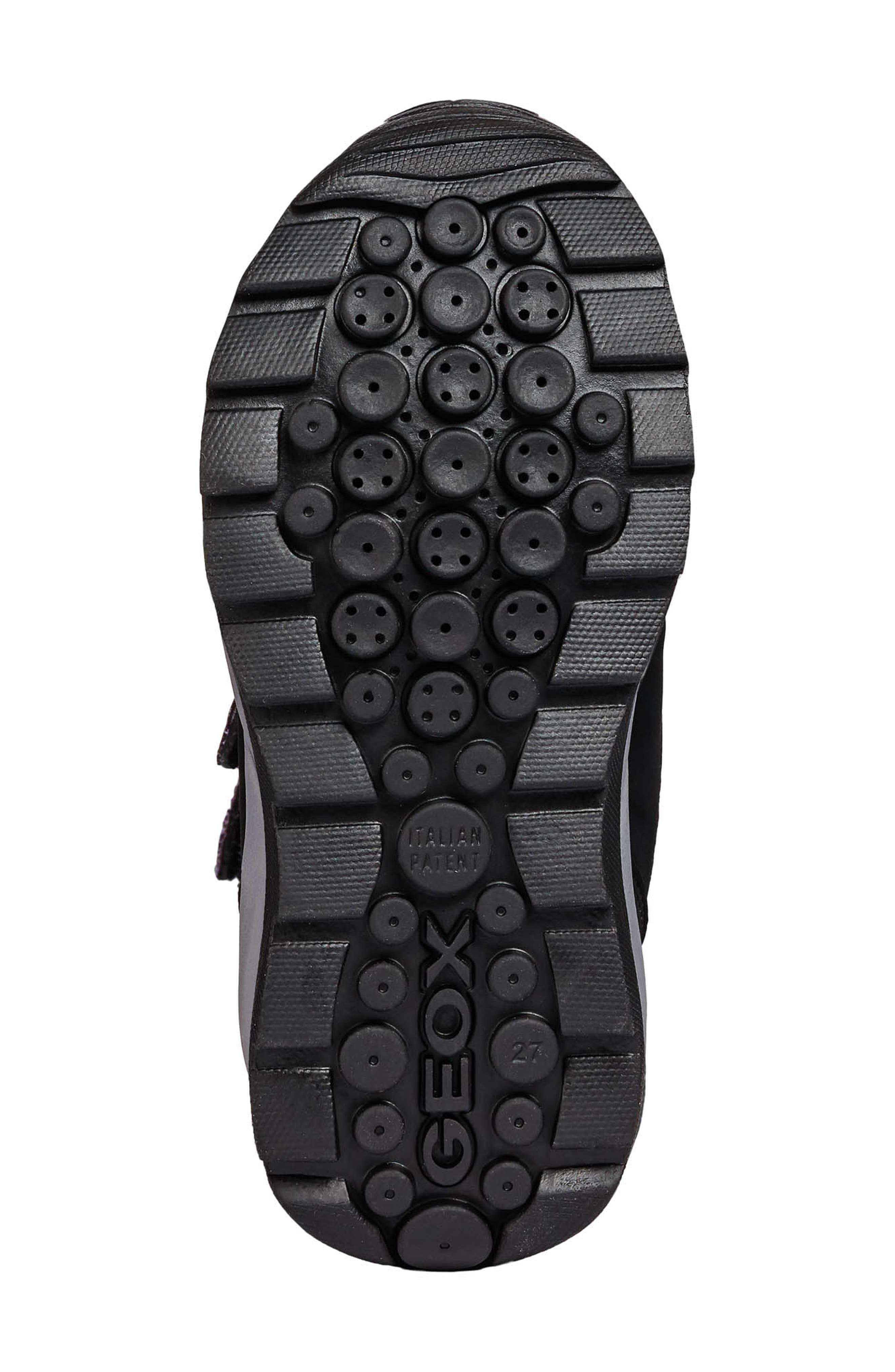 Orizont ABX Waterproof Boot,                             Alternate thumbnail 6, color,                             BLACK/FUCHSIA