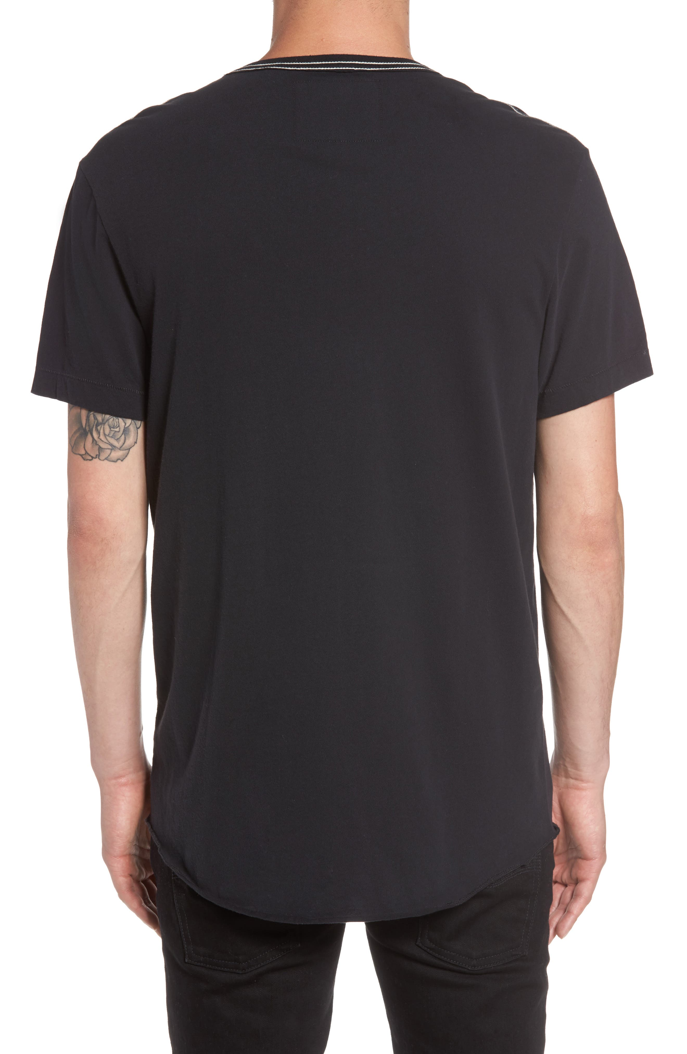 Buddha Graphic T-Shirt,                             Alternate thumbnail 2, color,                             001