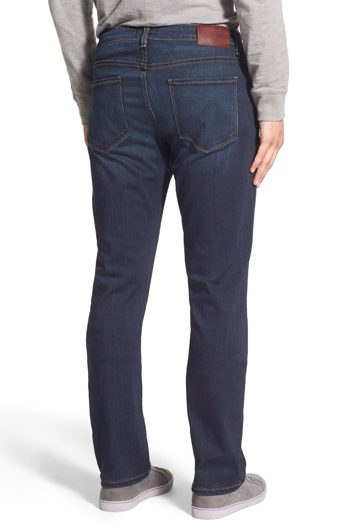 'Normandie' Straight Leg Jeans,                             Alternate thumbnail 2, color,                             RIGBY