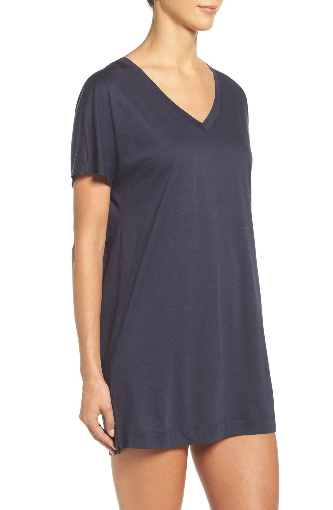 Laura Jersey Sleep Shirt,                             Alternate thumbnail 9, color,