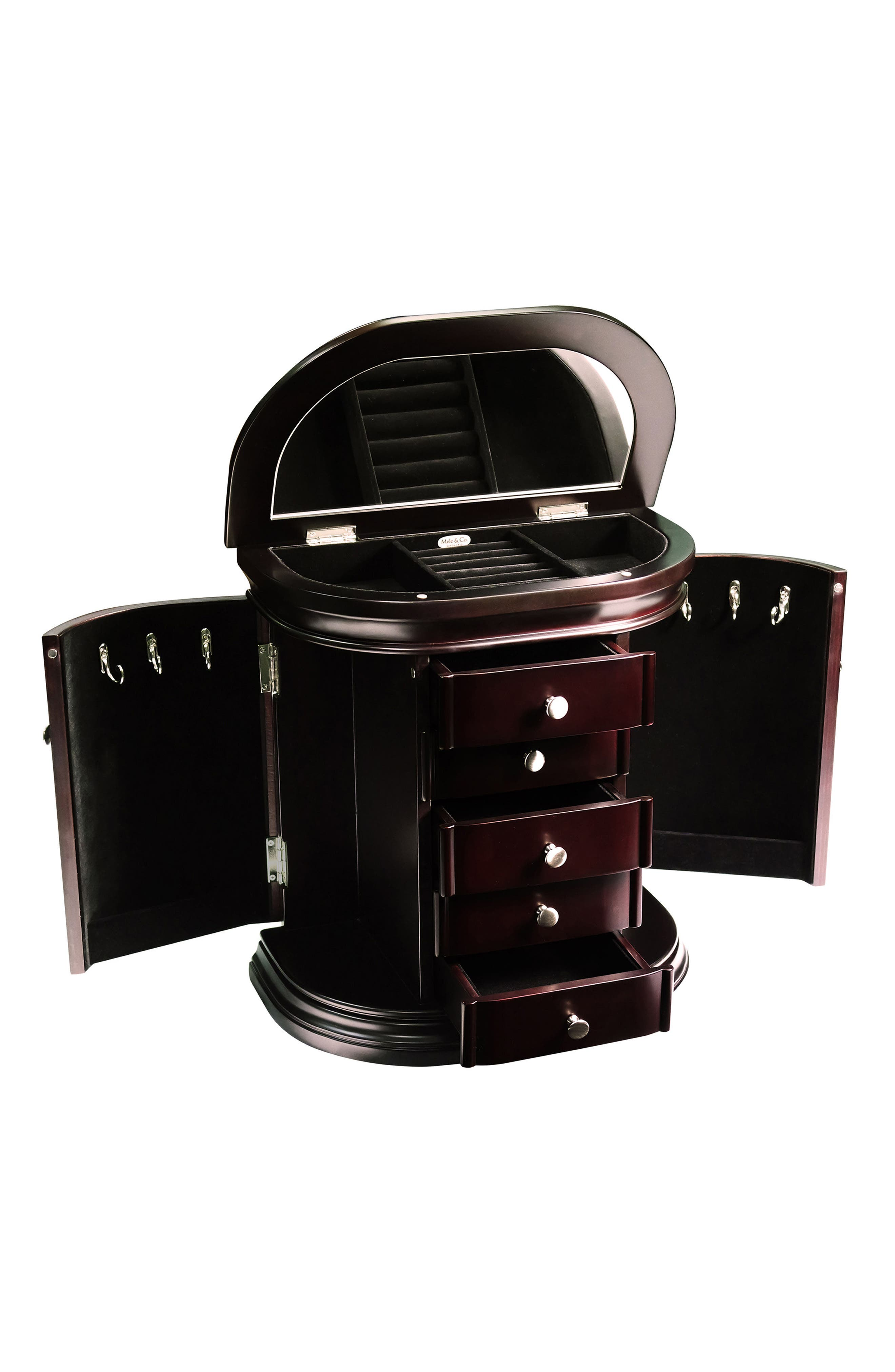 Sonora Jewelry Box,                             Alternate thumbnail 2, color,                             BROWN