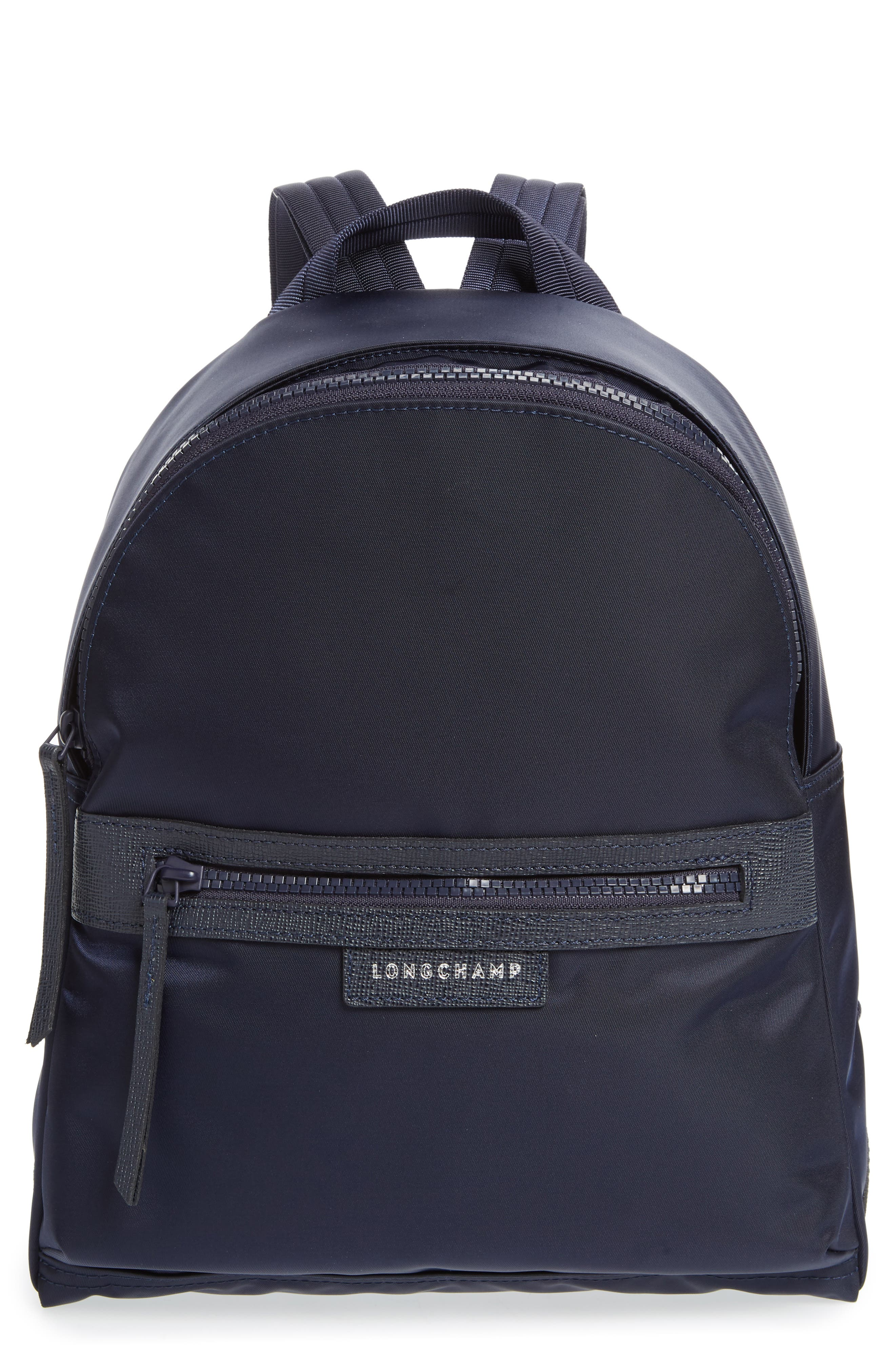 'Small Le Pliage Neo' Nylon Backpack,                             Main thumbnail 1, color,                             NAVY BLUE