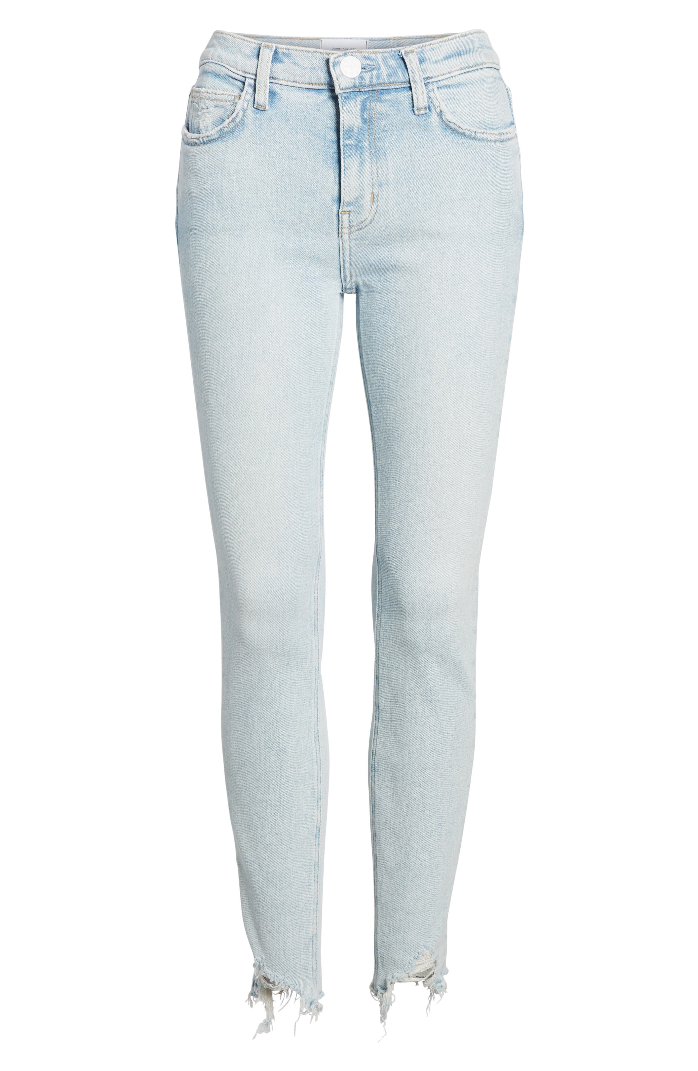The High Waist Ankle Skinny Jeans,                             Alternate thumbnail 7, color,                             465