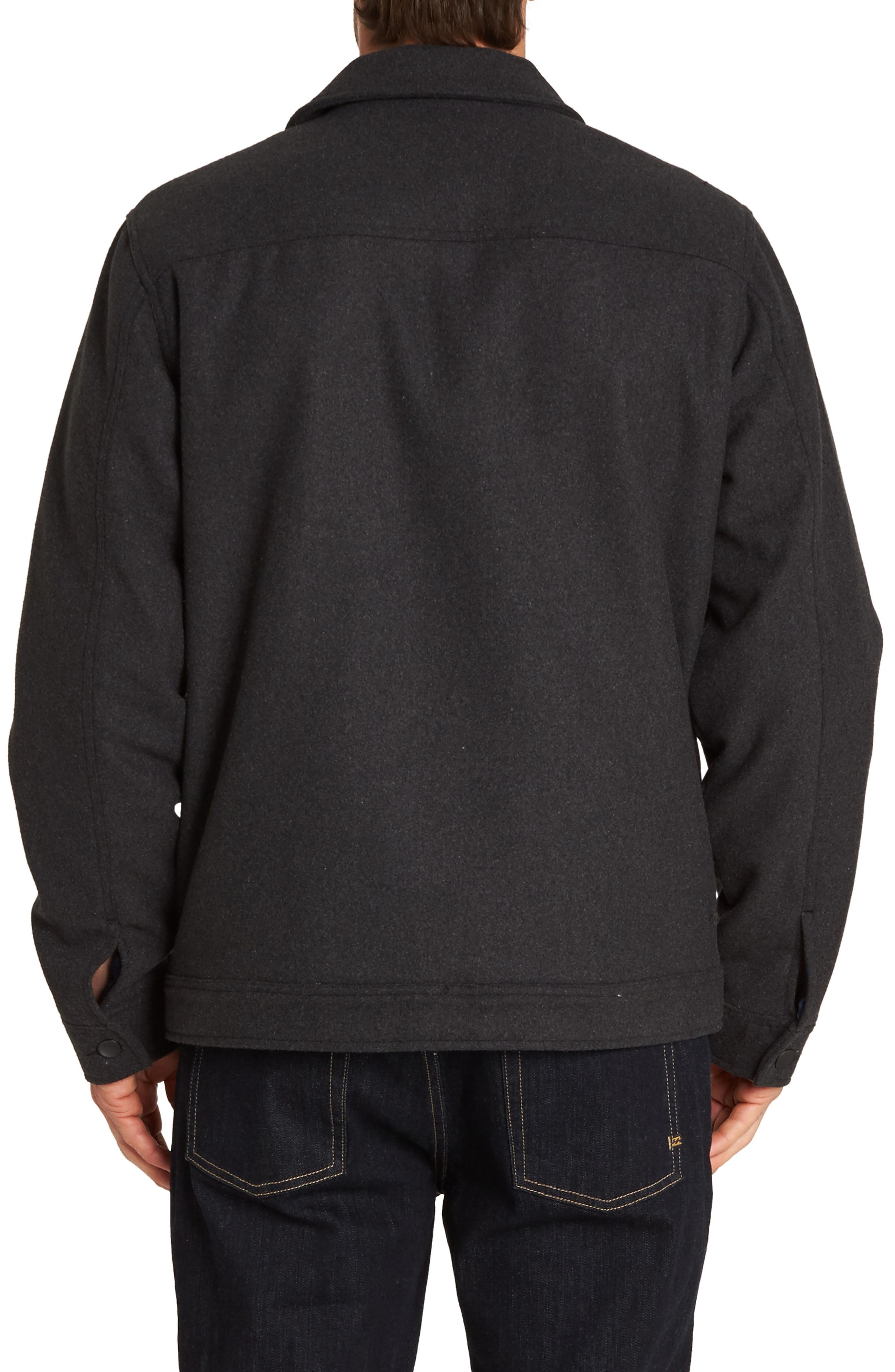 Barlow Jacket,                             Alternate thumbnail 2, color,                             BLACK HEATHER