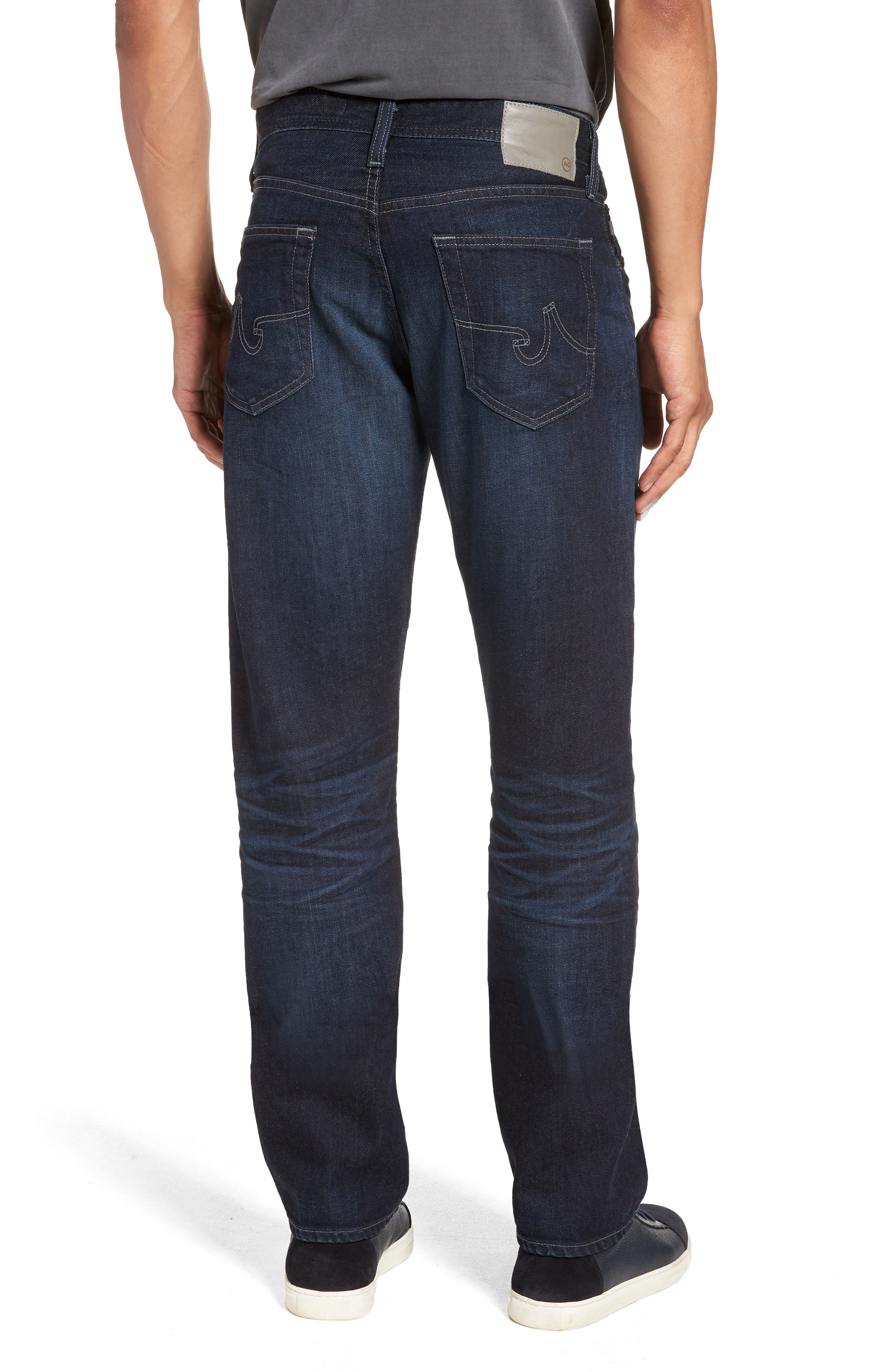 Graduate Slim Straight Leg Jeans,                             Alternate thumbnail 2, color,                             486