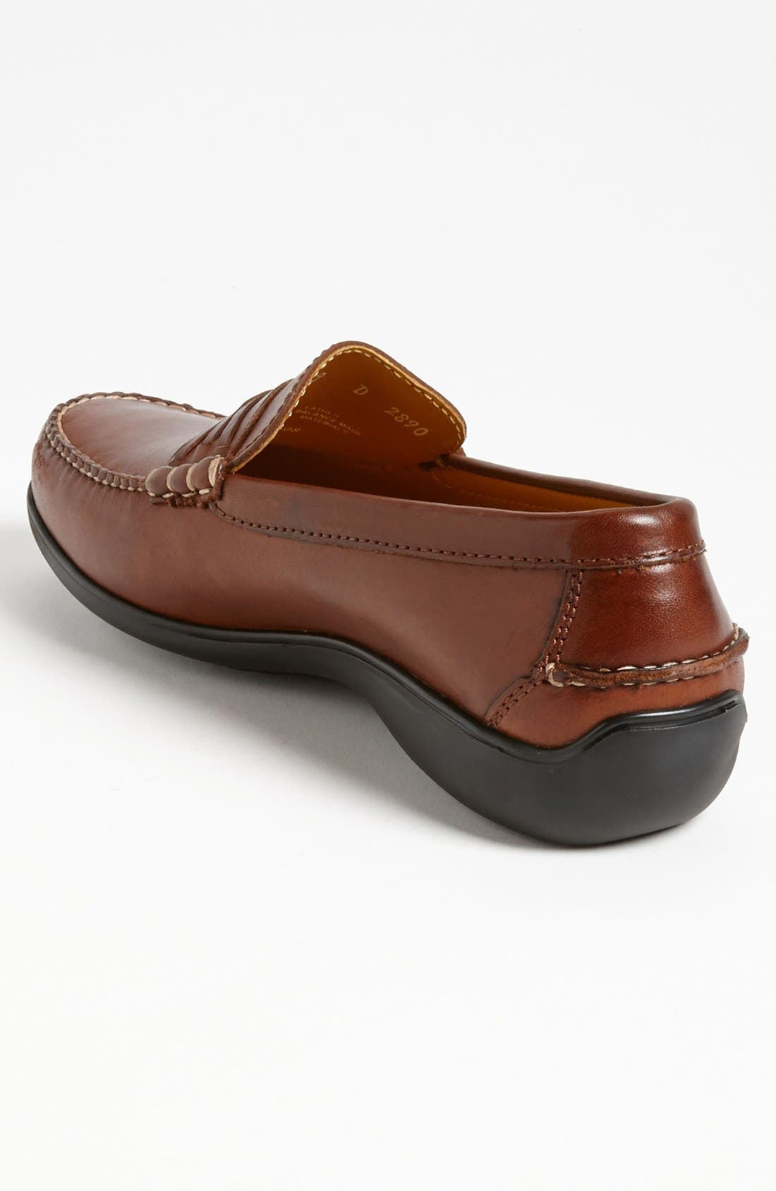 'Truman' Loafer,                             Alternate thumbnail 2, color,                             CHESTNUT