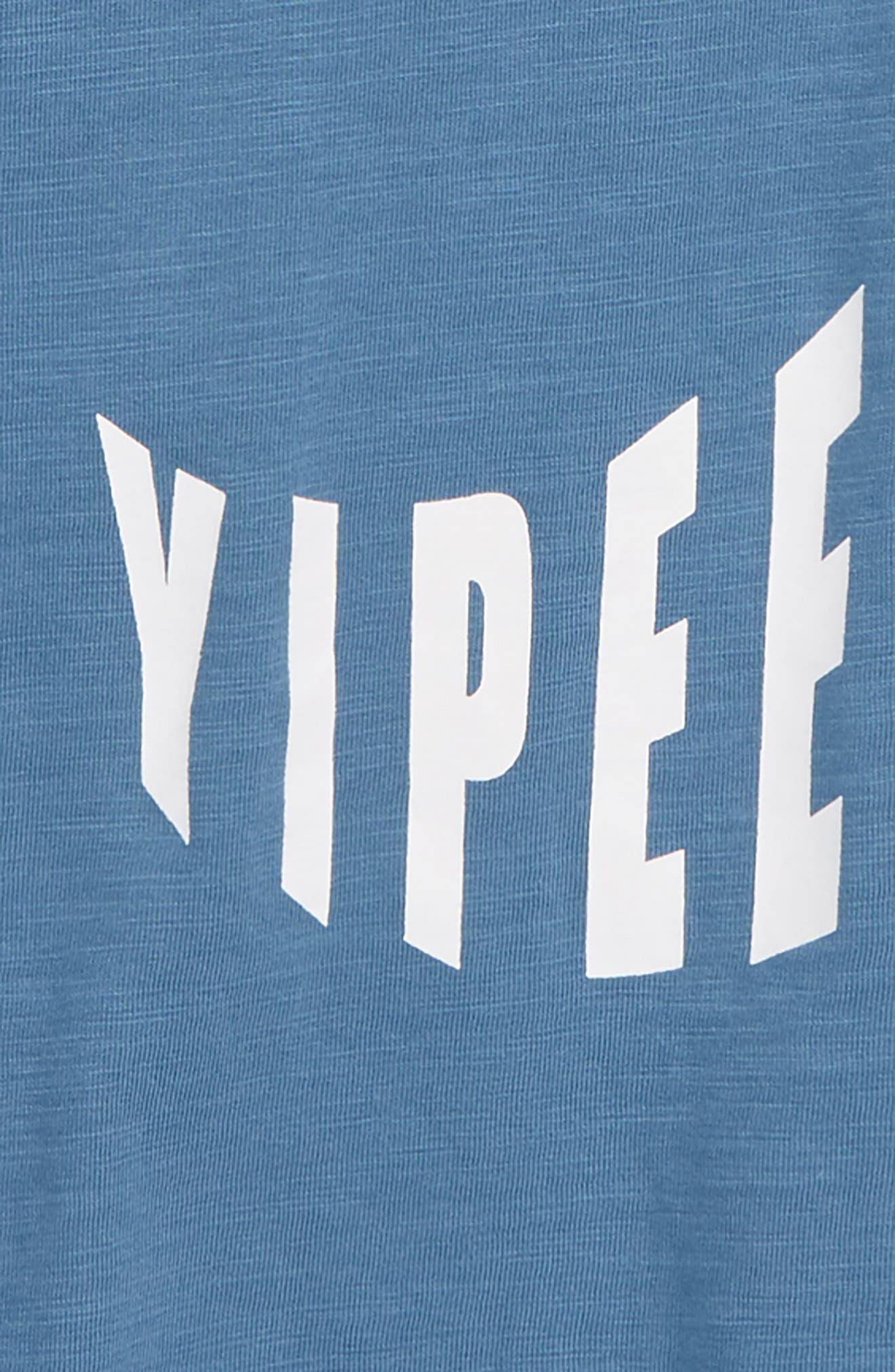 Graphic Scoop T-Shirt,                             Alternate thumbnail 2, color,                             BLUE STELLAR YIPEE